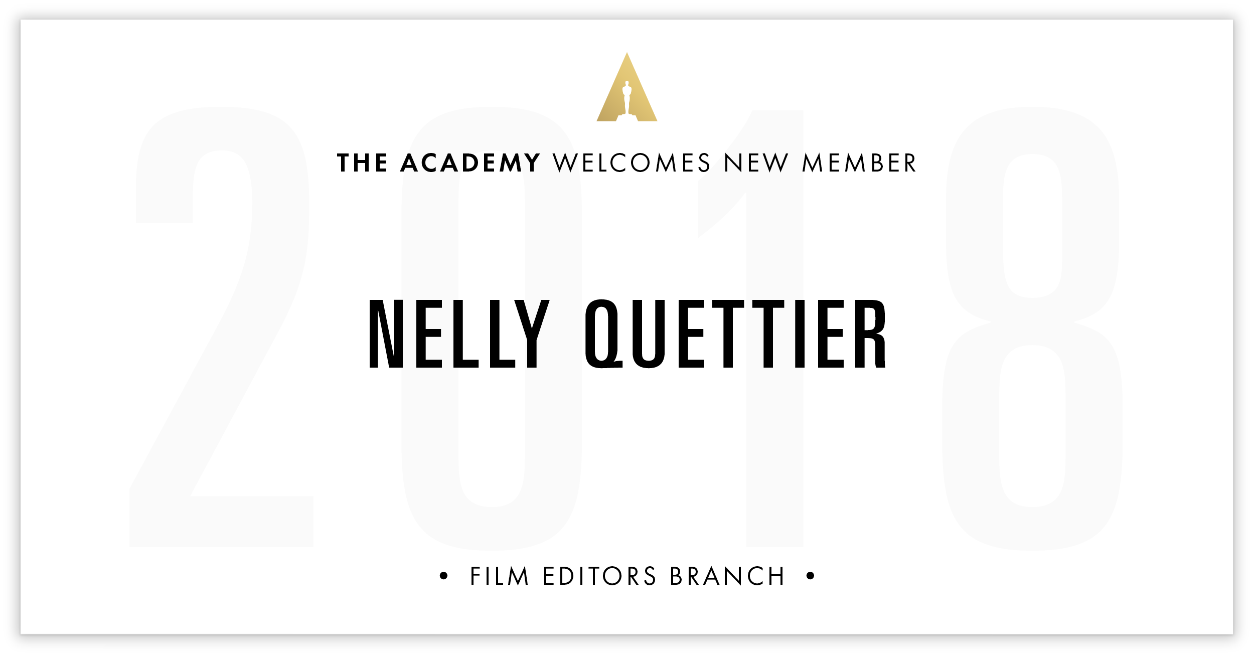 Nelly Quettier is invited!