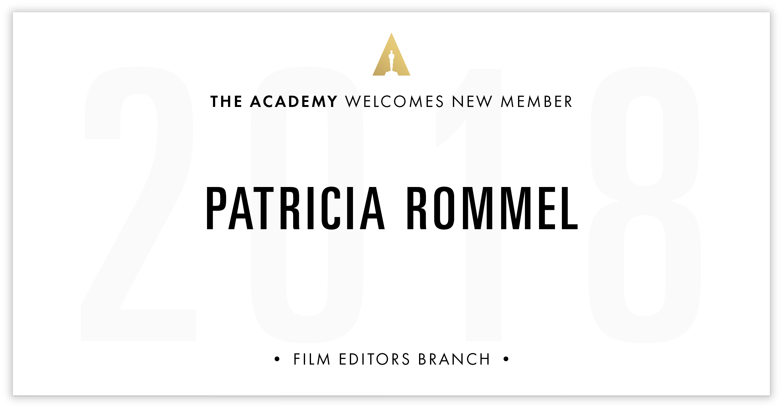 Patricia Rommel is invited!
