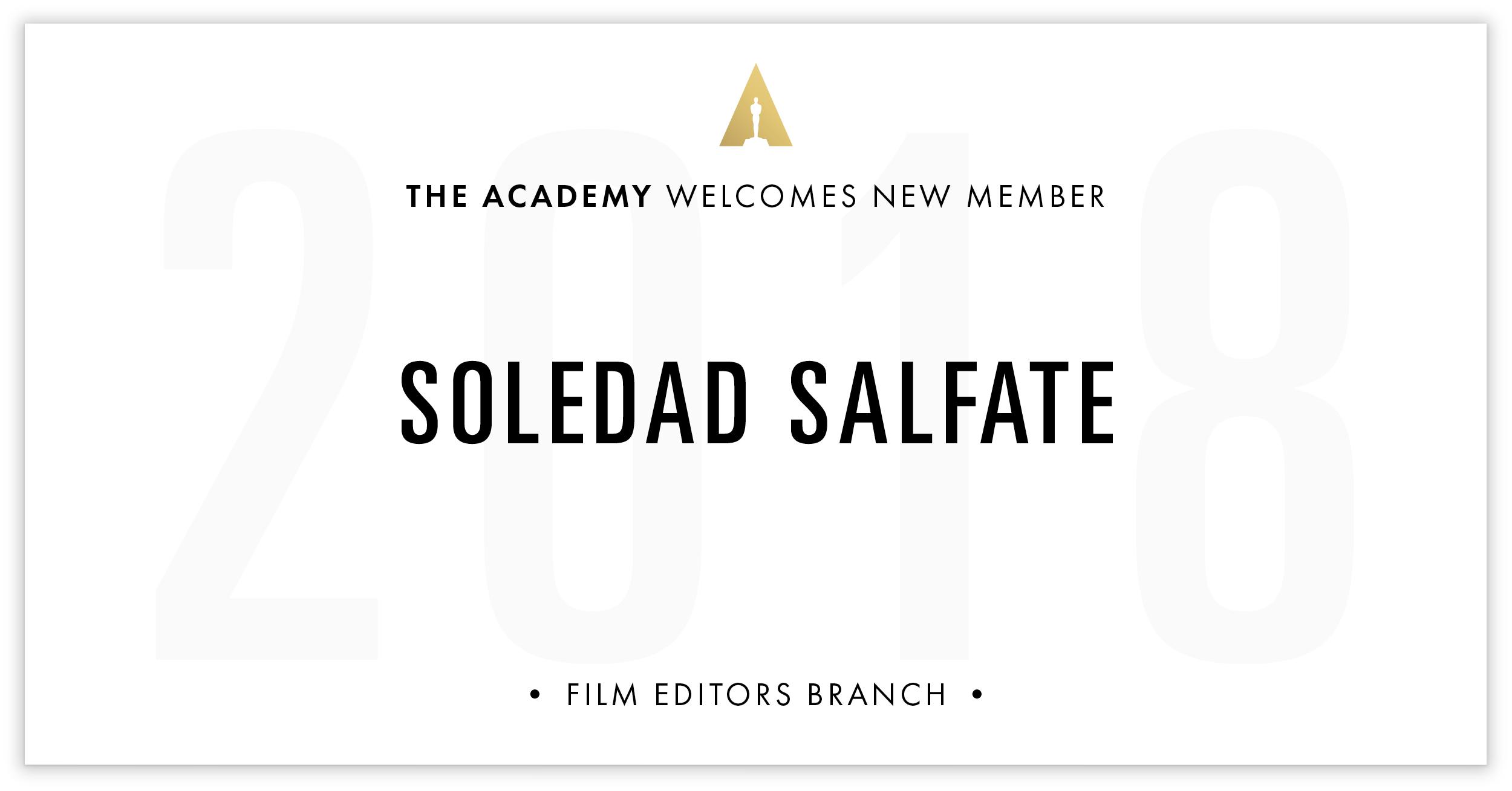 Soledad Salfate is invited!