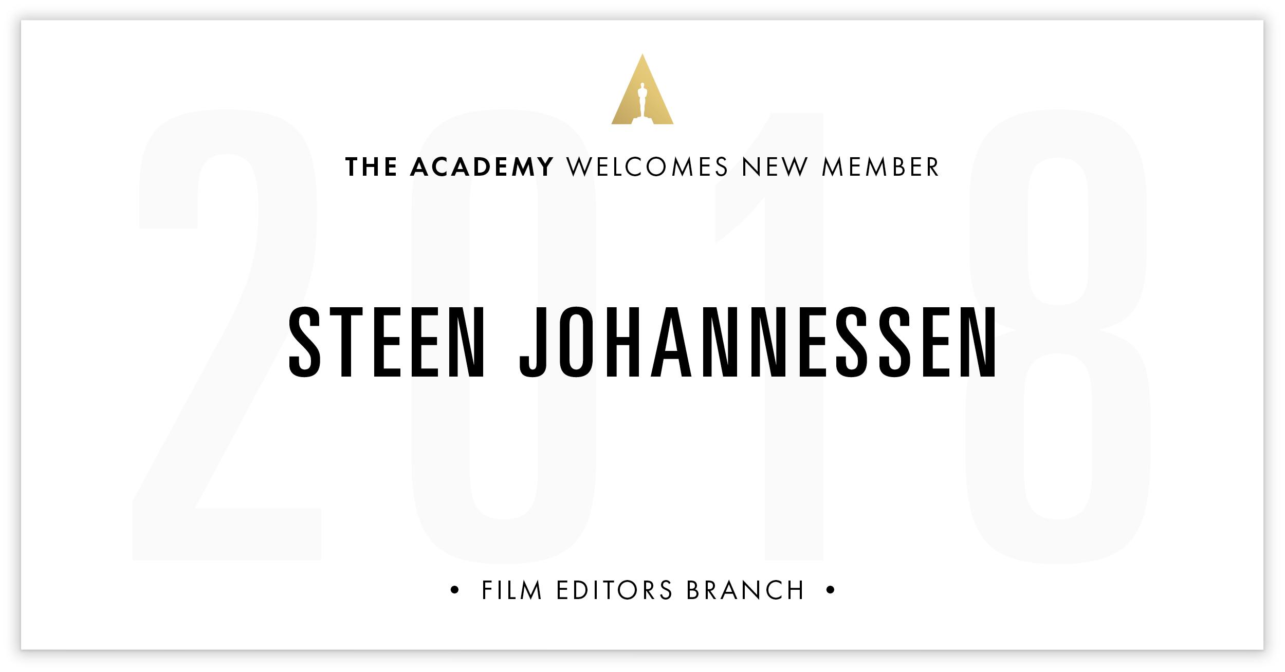 Steen Johannessen is invited!