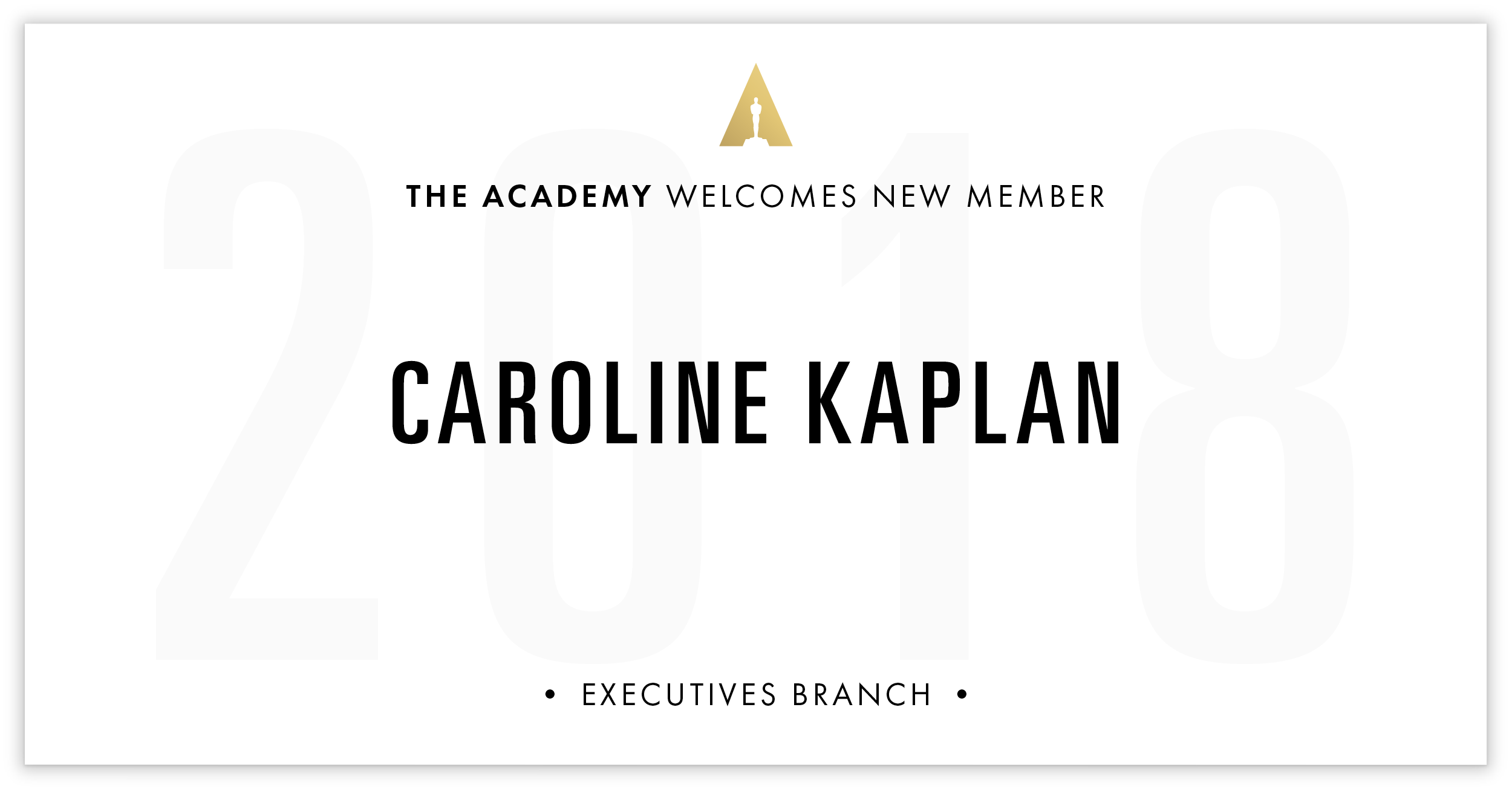 Caroline Kaplan is invited!