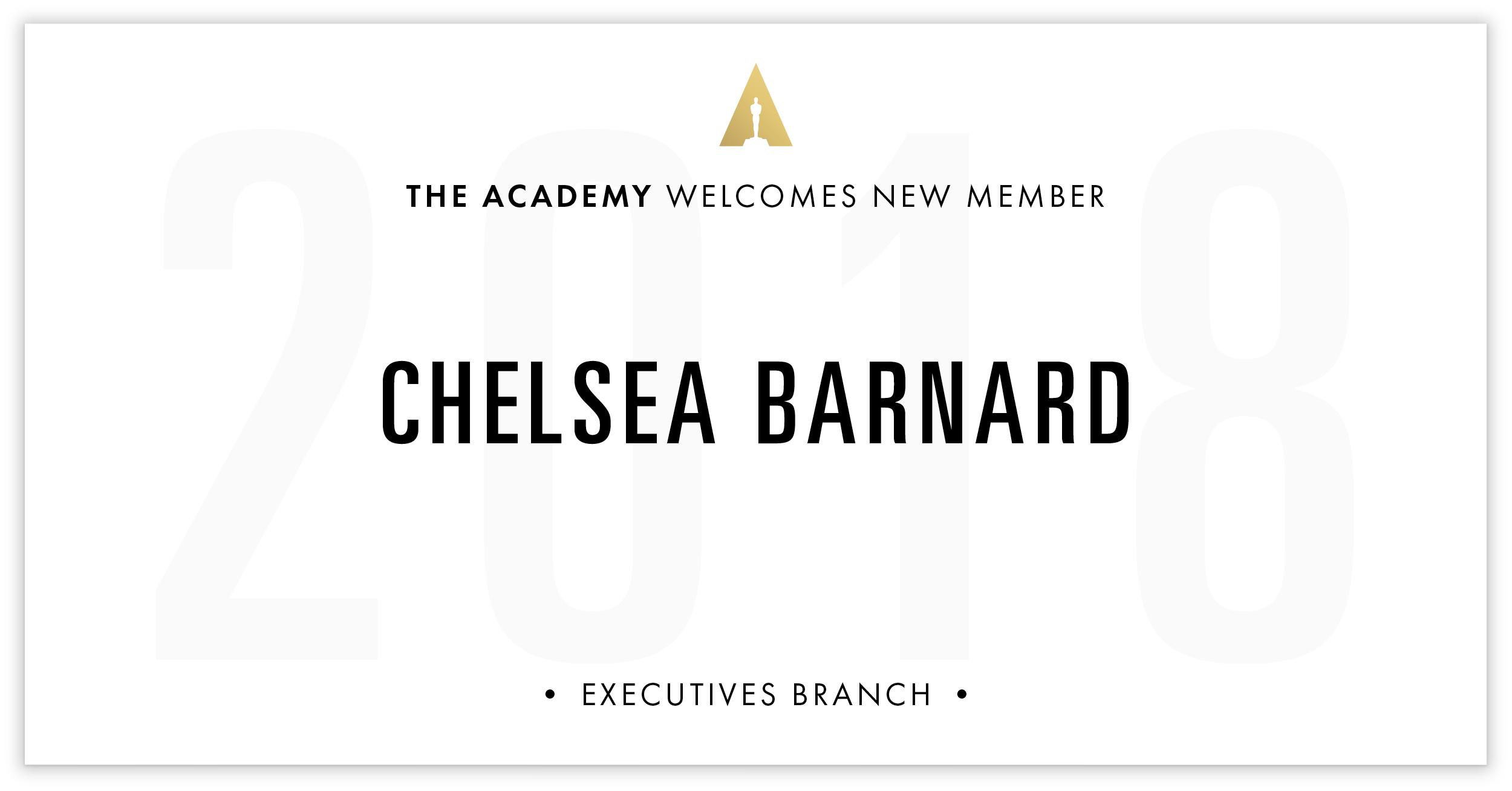 Chelsea Barnard is invited!