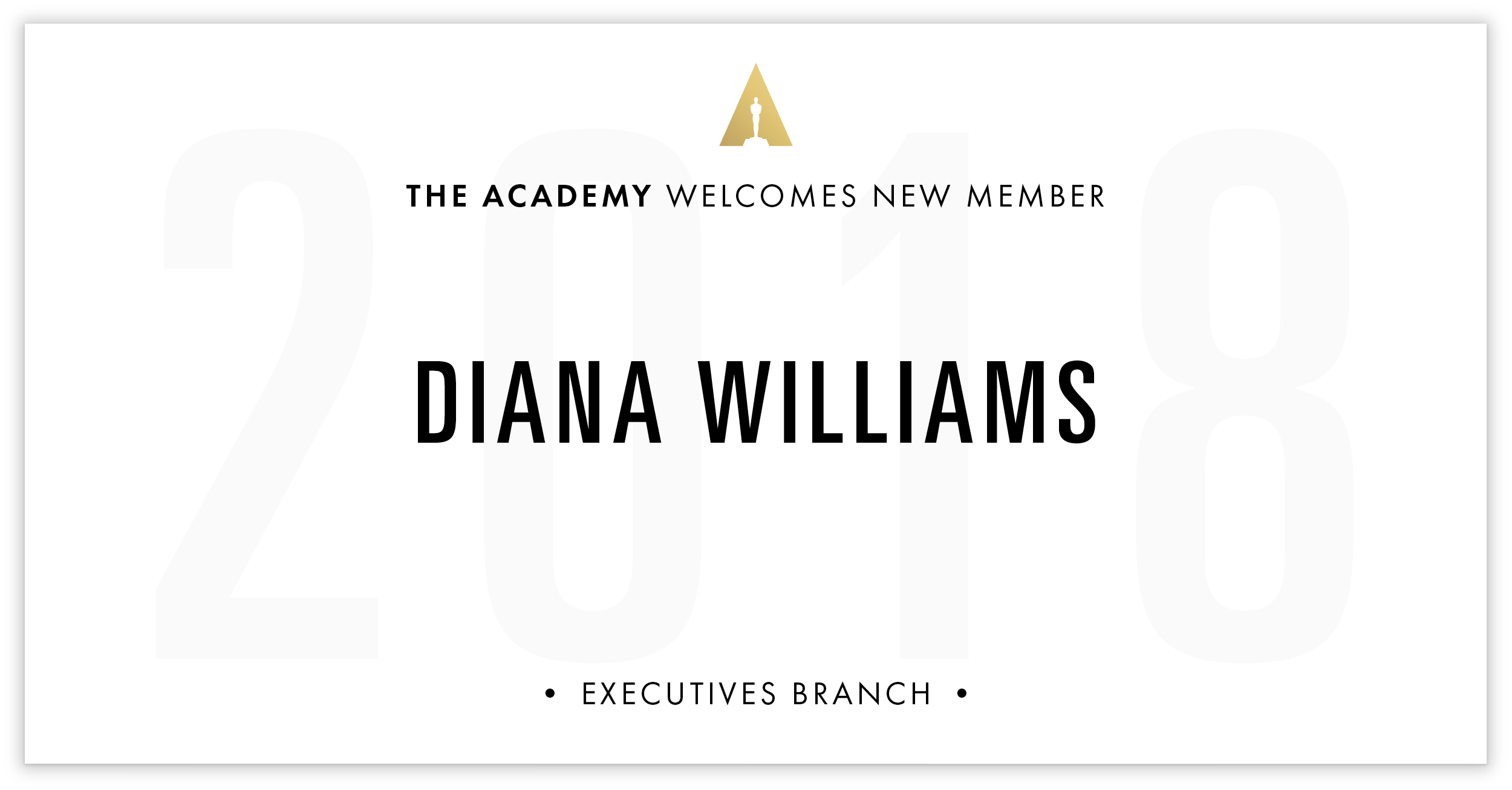 Diana Williams is invited!