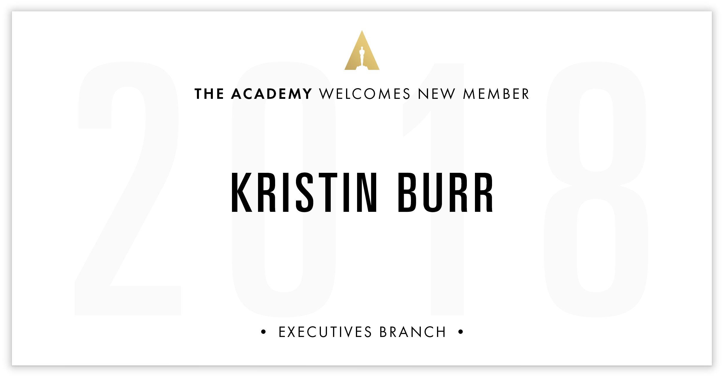 Kristin Burr is invited!