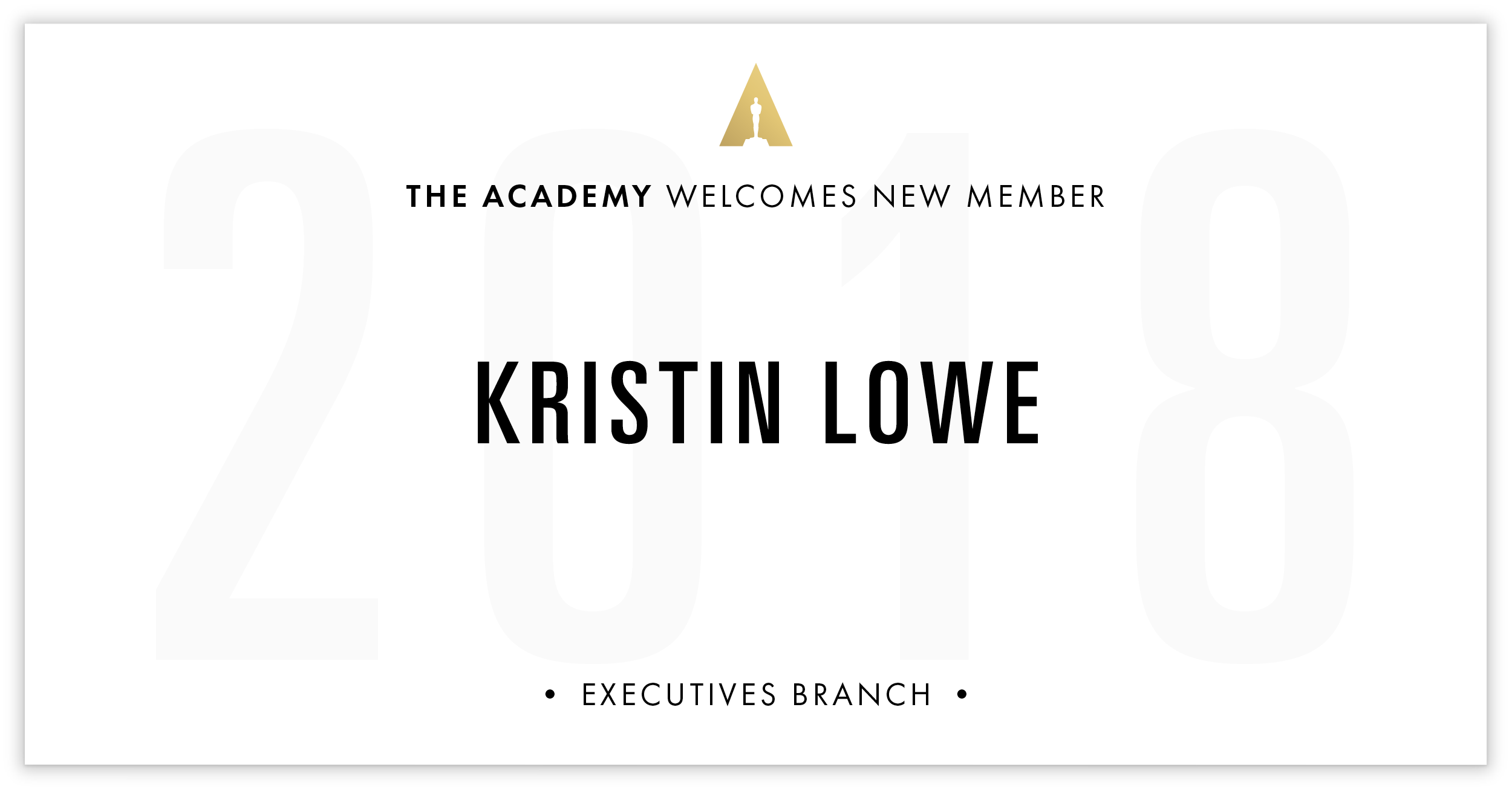 Kristin Lowe is invited!