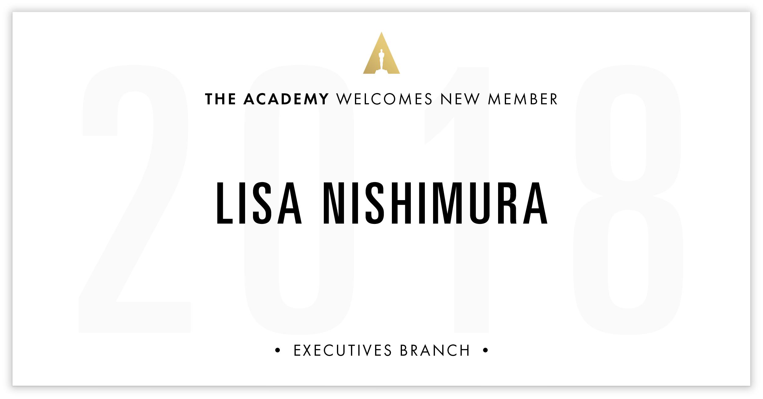 Lisa Nishimura is invited!