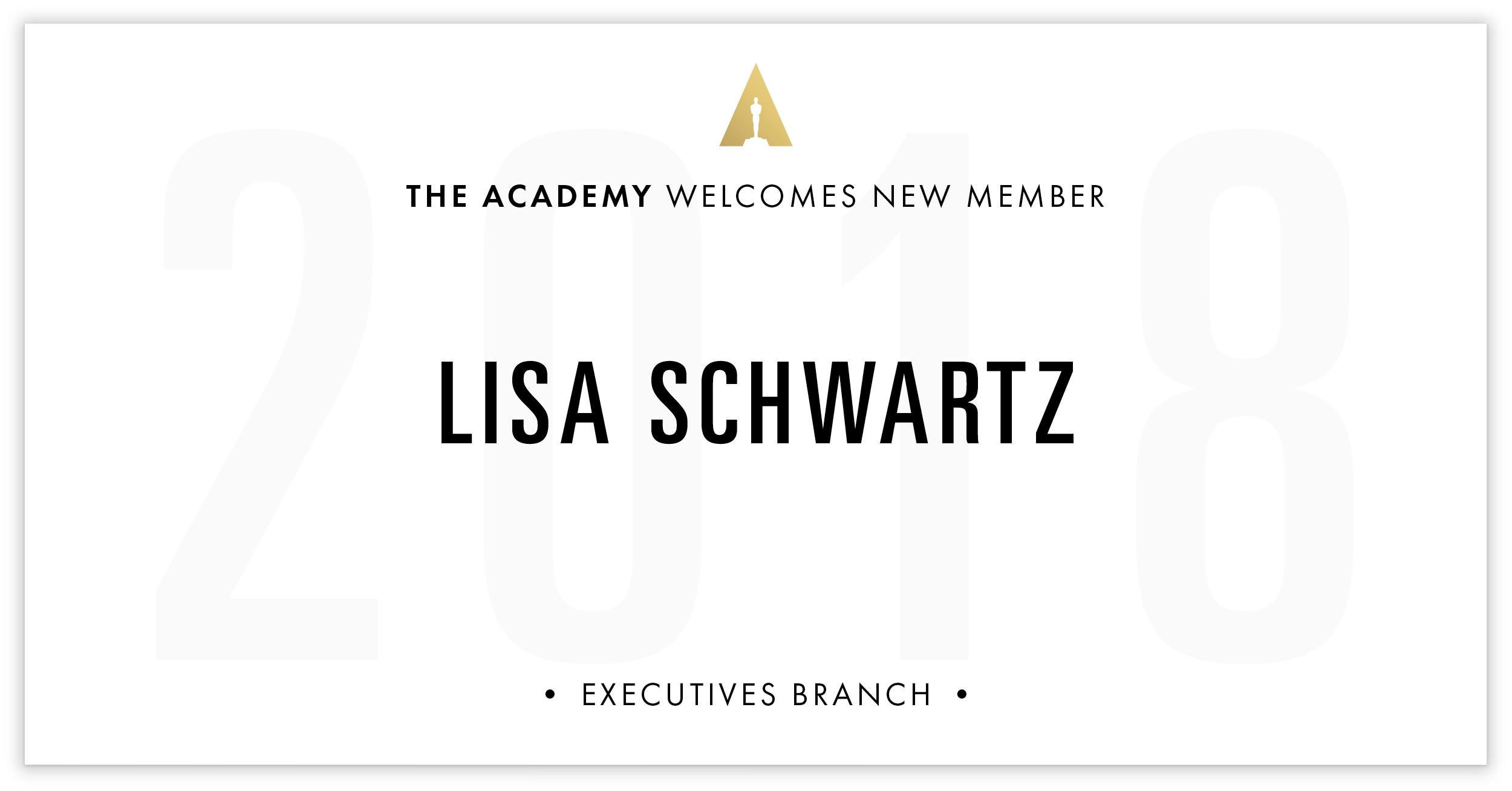 Lisa Schwartz is invited!