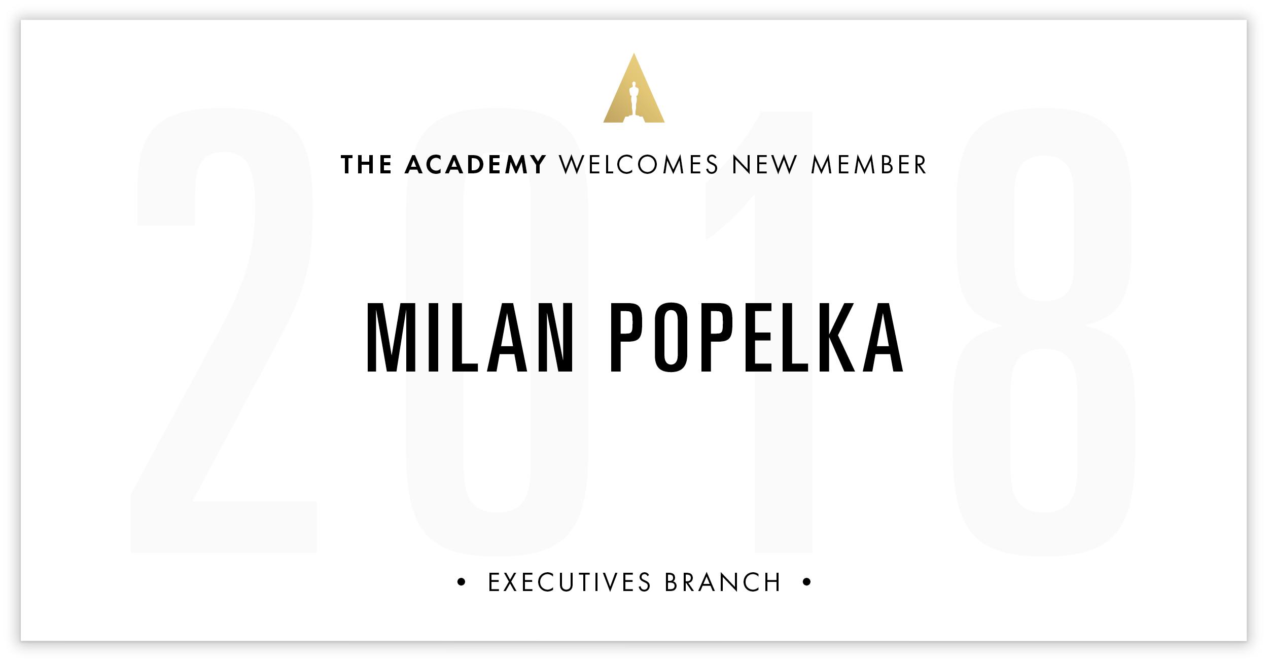 Milan Popelka is invited!