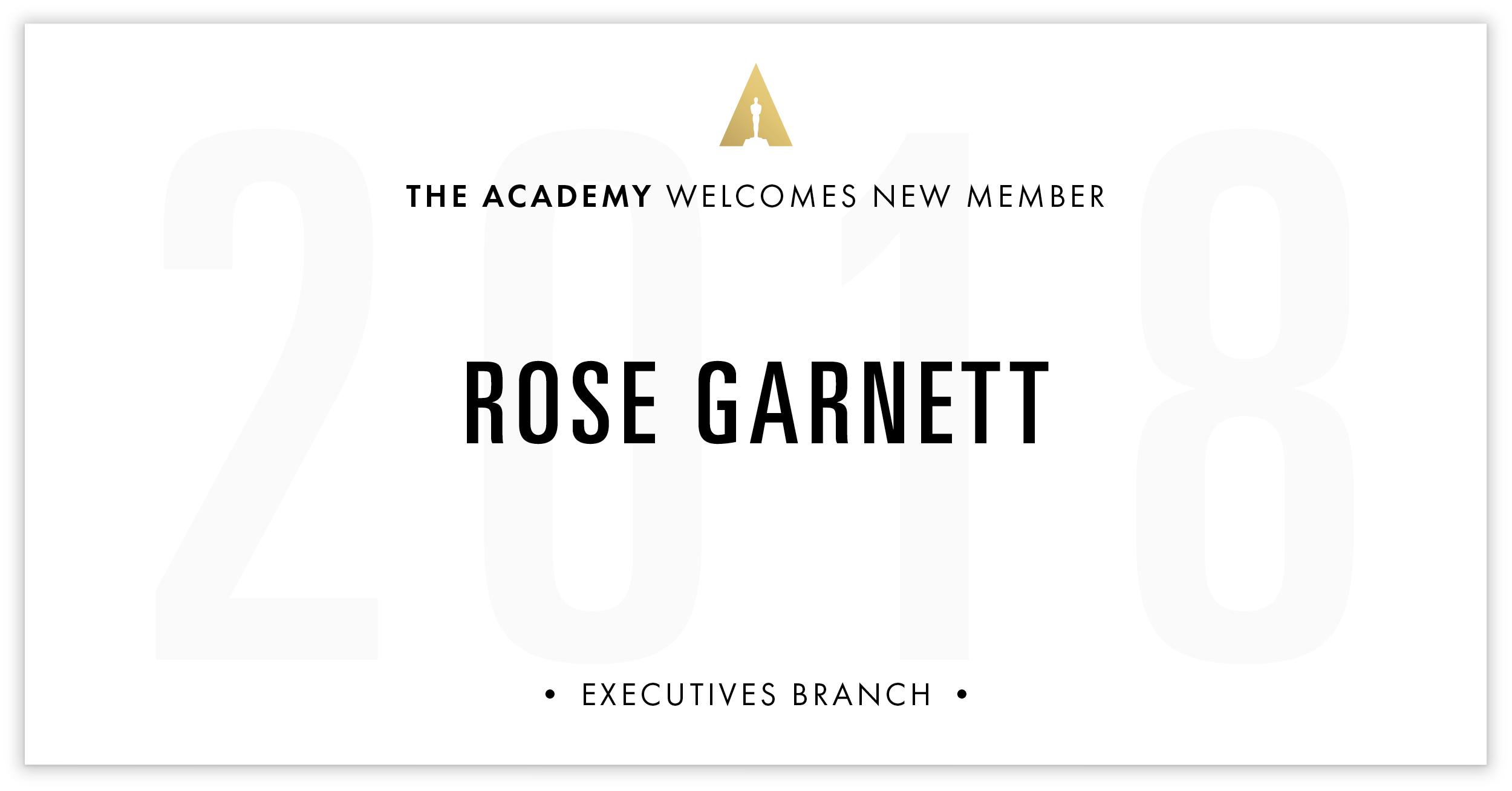 Rose Garnett is invited!