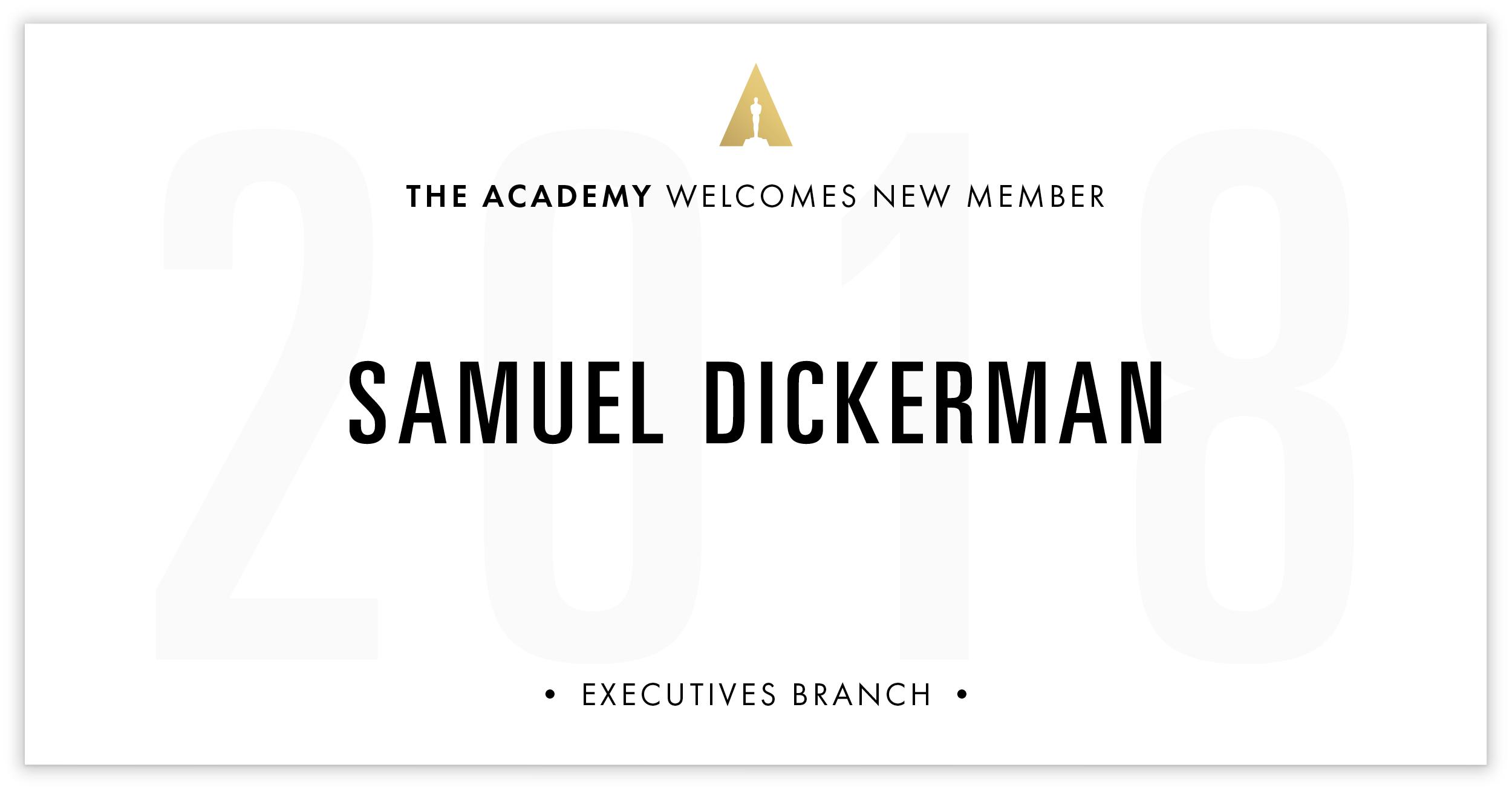 Samuel Dickerman is invited!