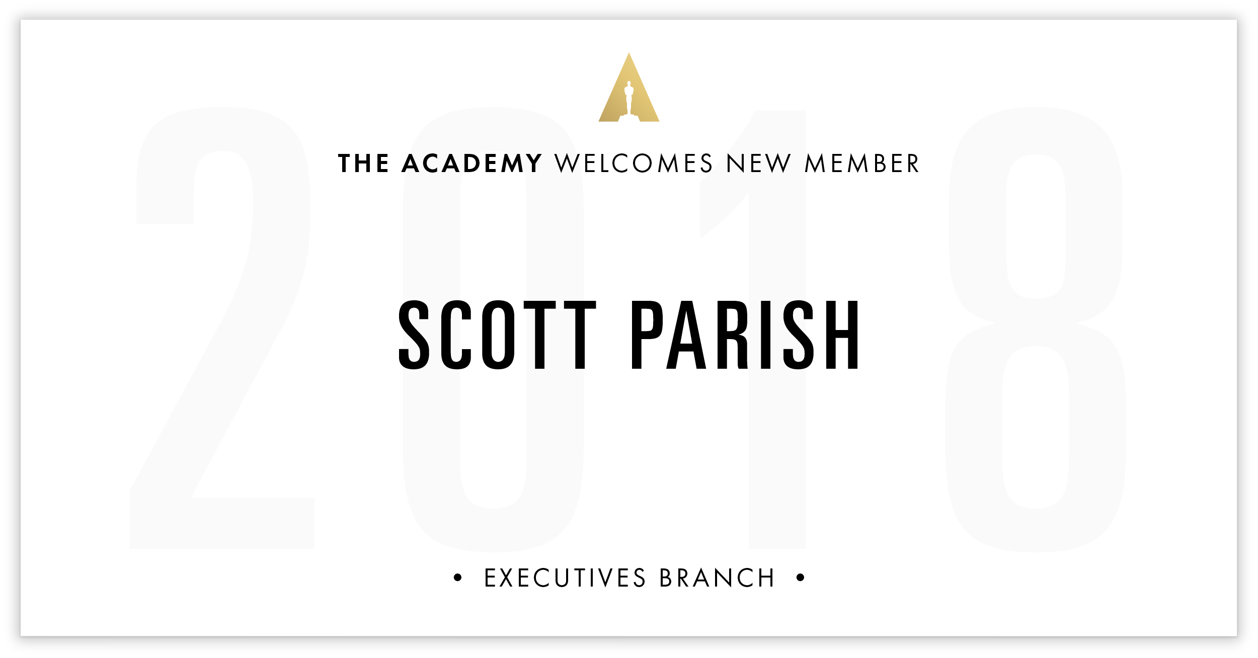 Scott Parish is invited!
