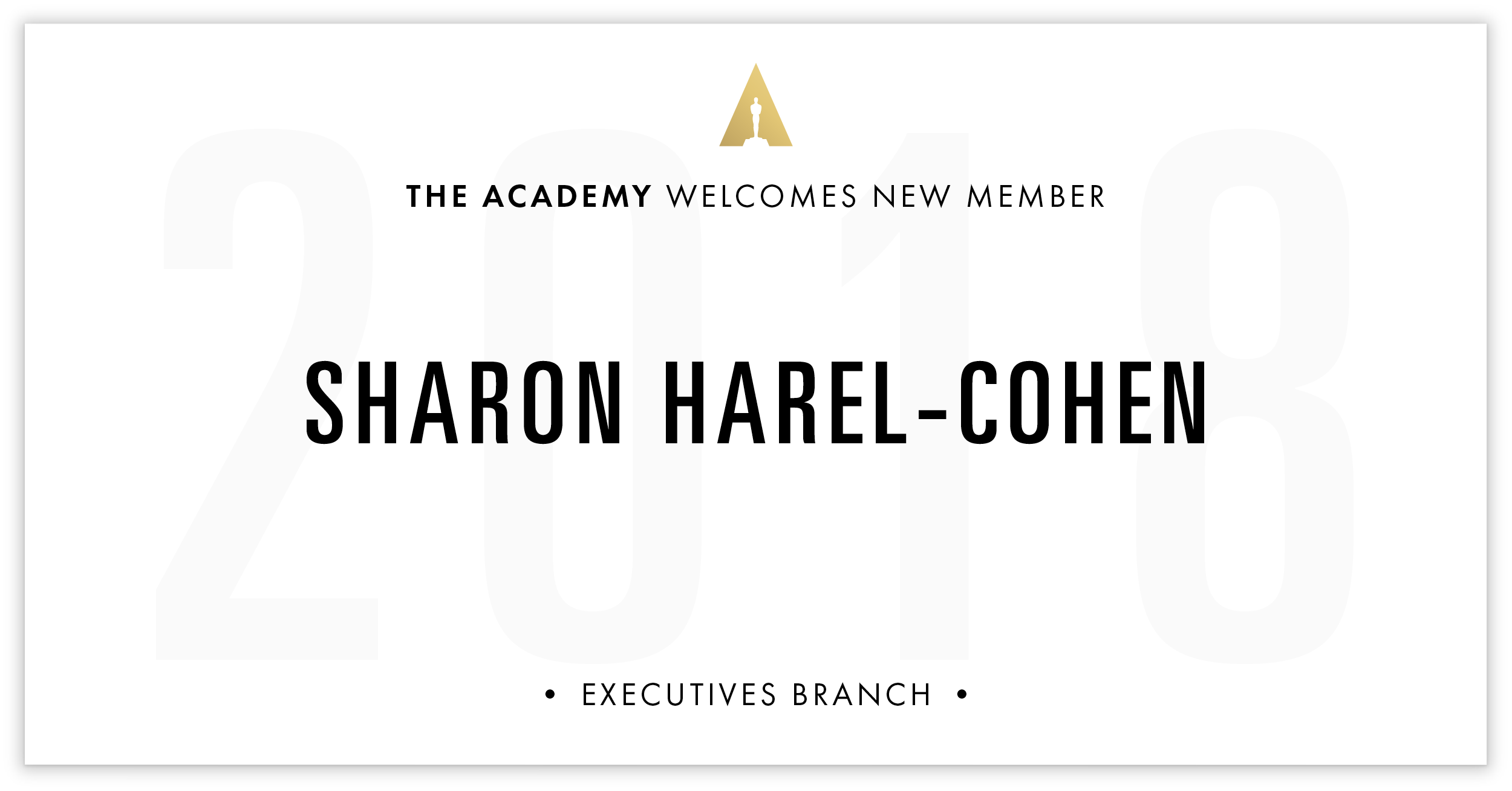 Sharon Harel-Cohen is invited!