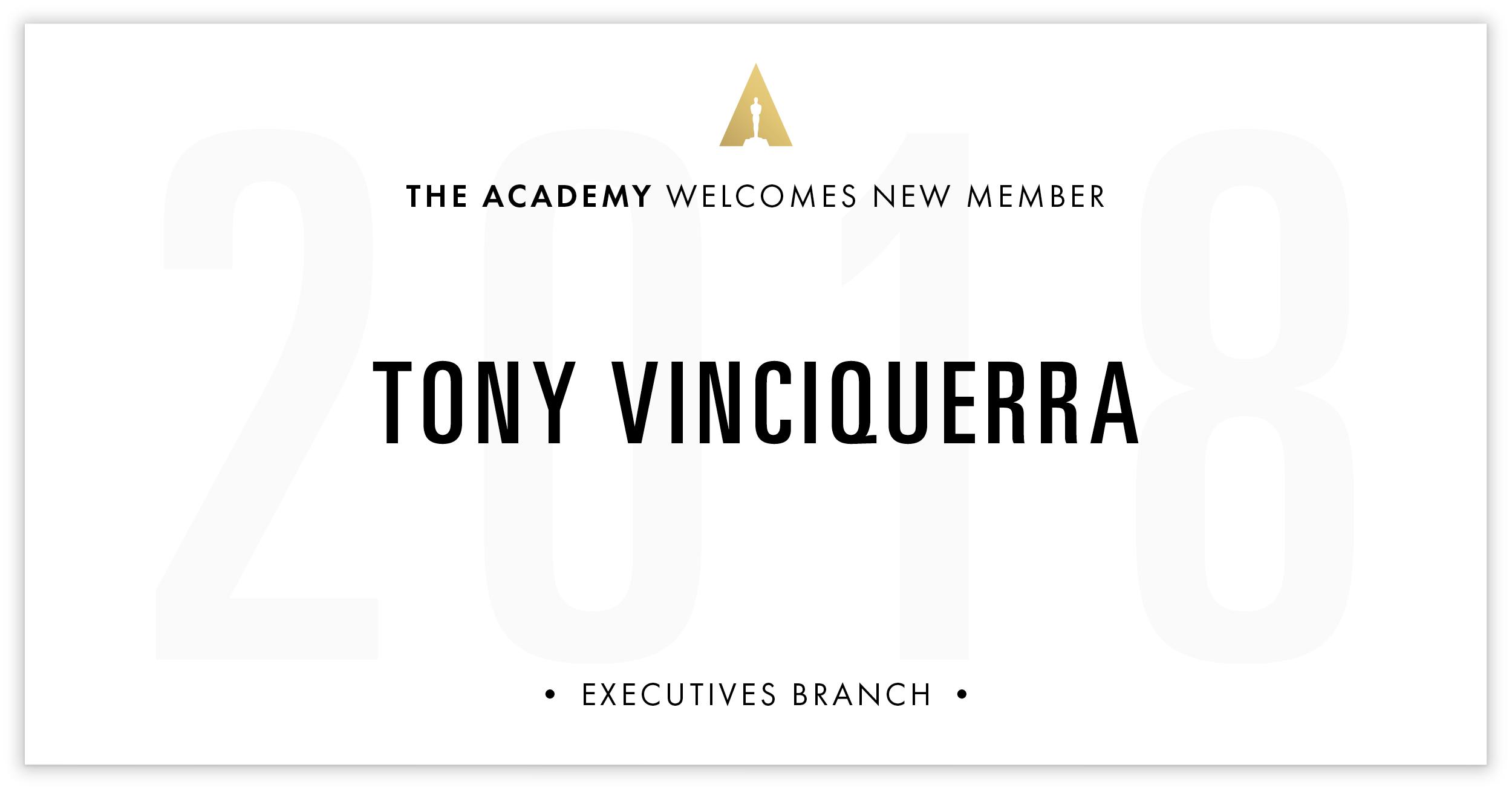 Tony Vinciquerra is invited!
