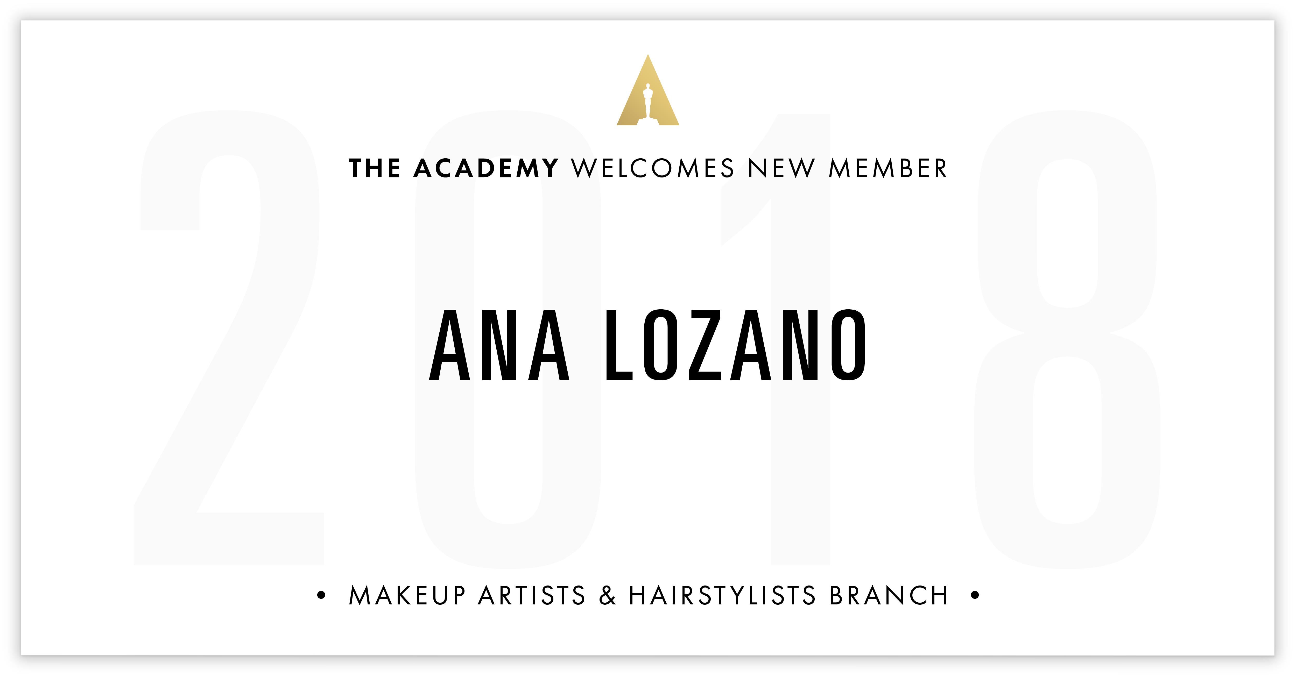 Ana Lozano is invited!