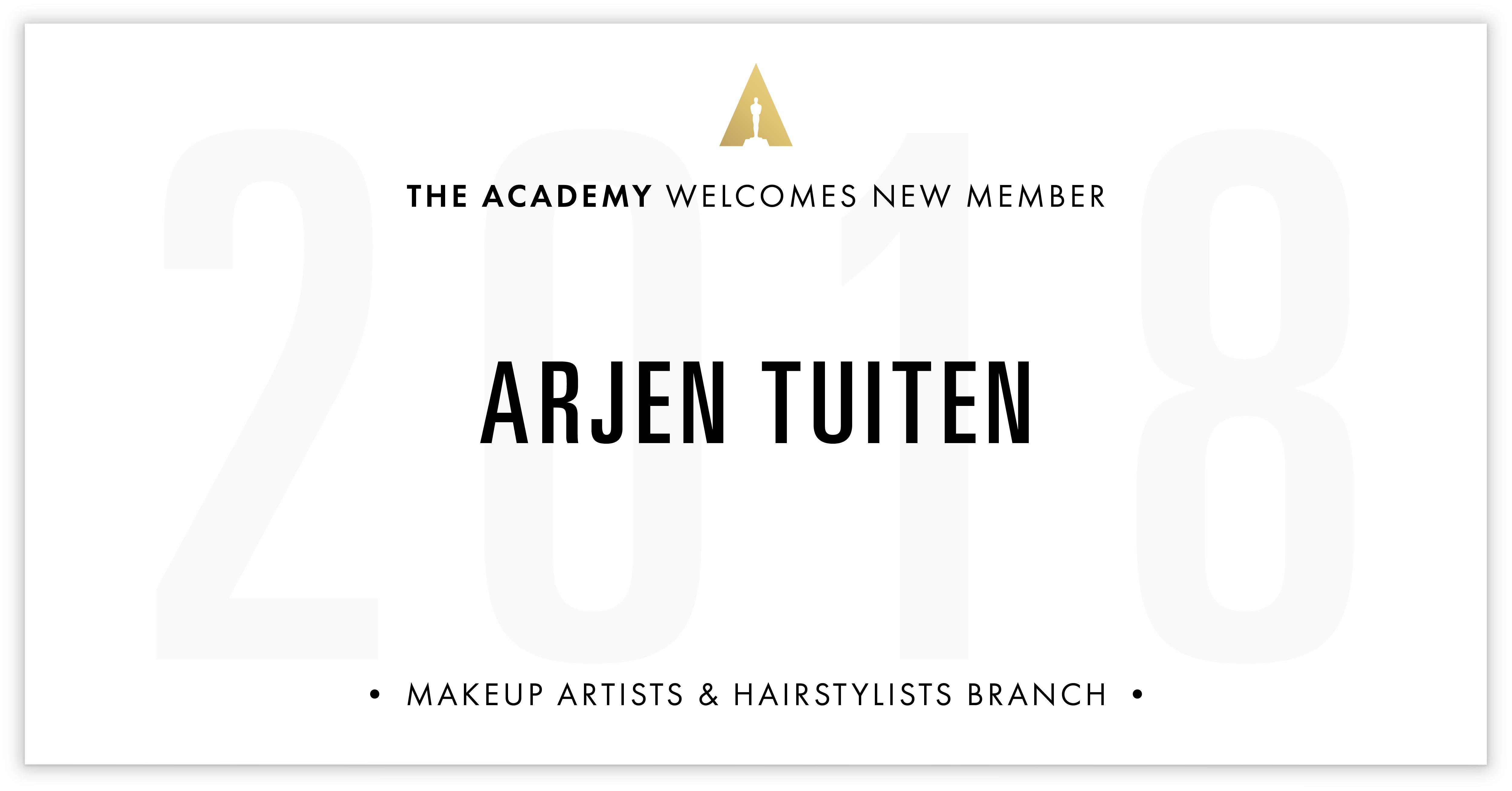Arjen Tuiten is invited!