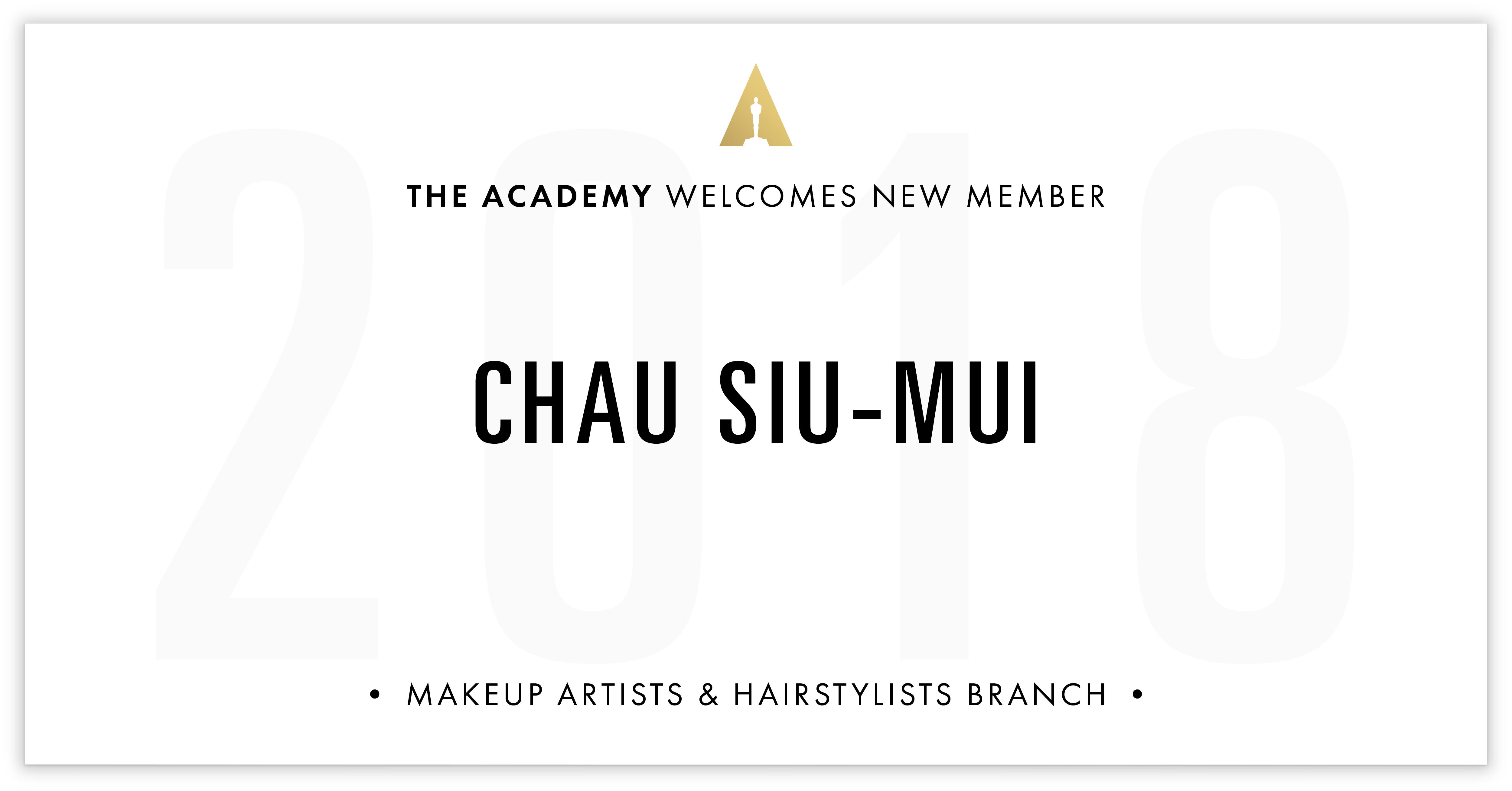 Chau Siu-Mui is invited!