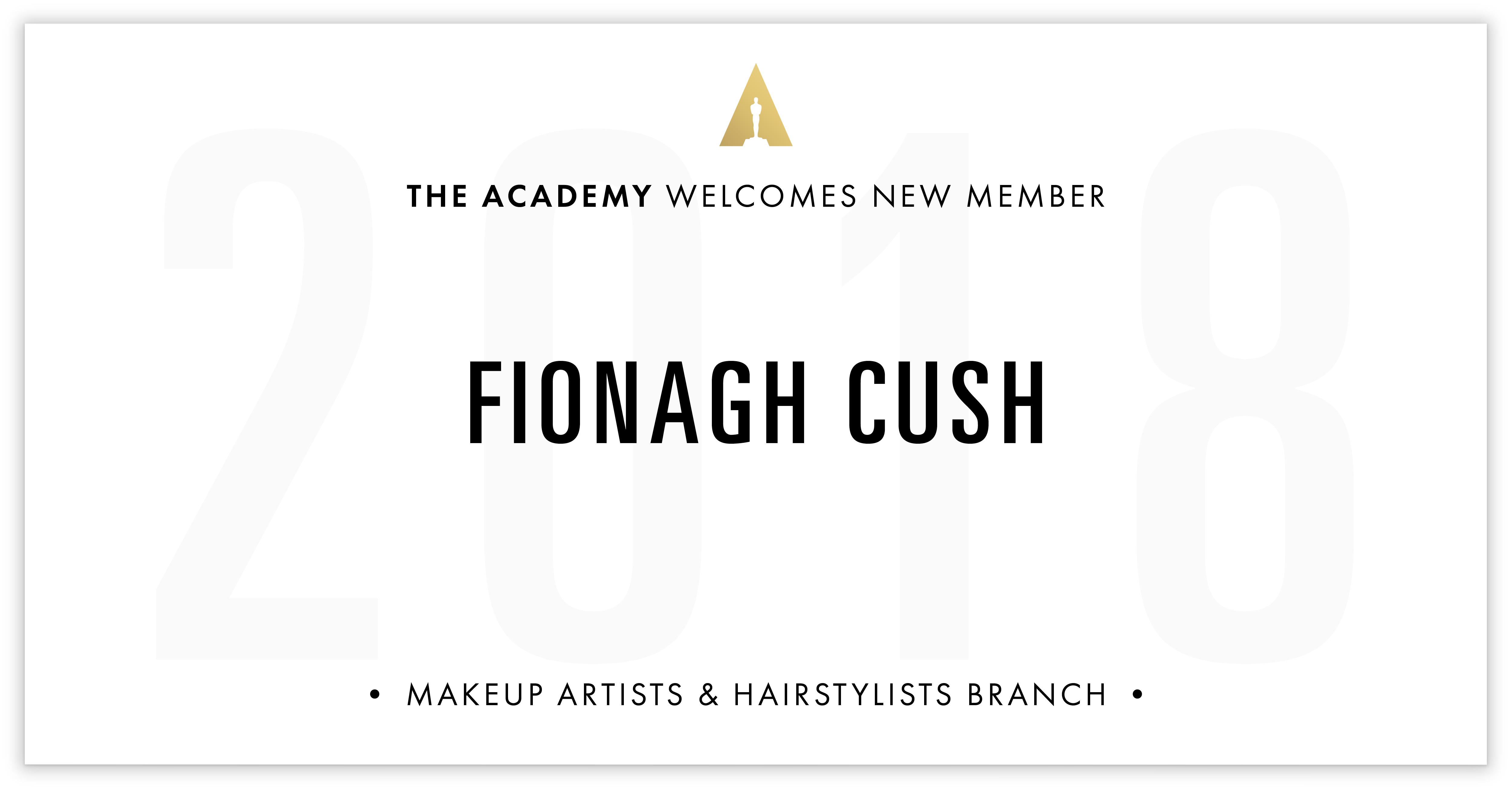 Fionagh Cush is invited!