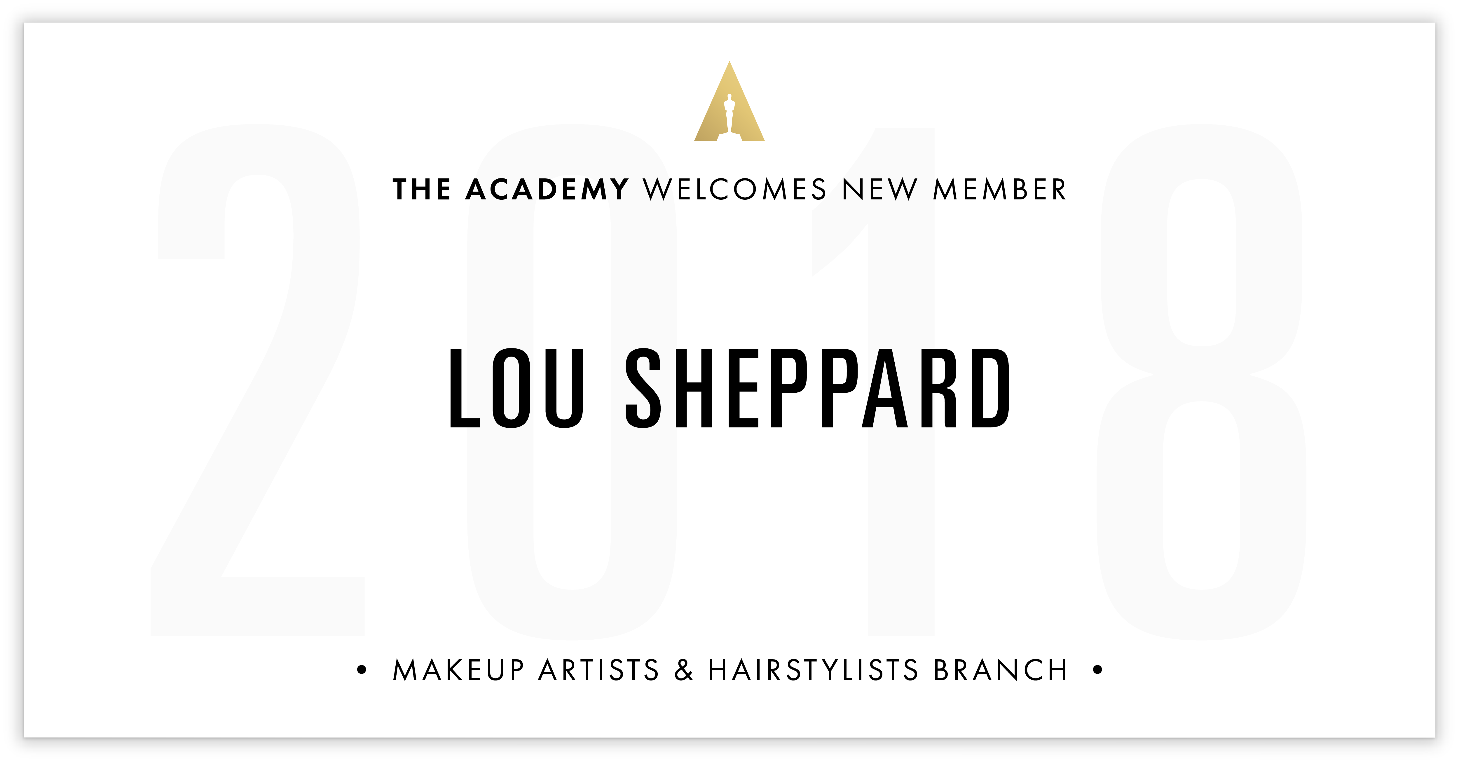 Lou Sheppard is invited!