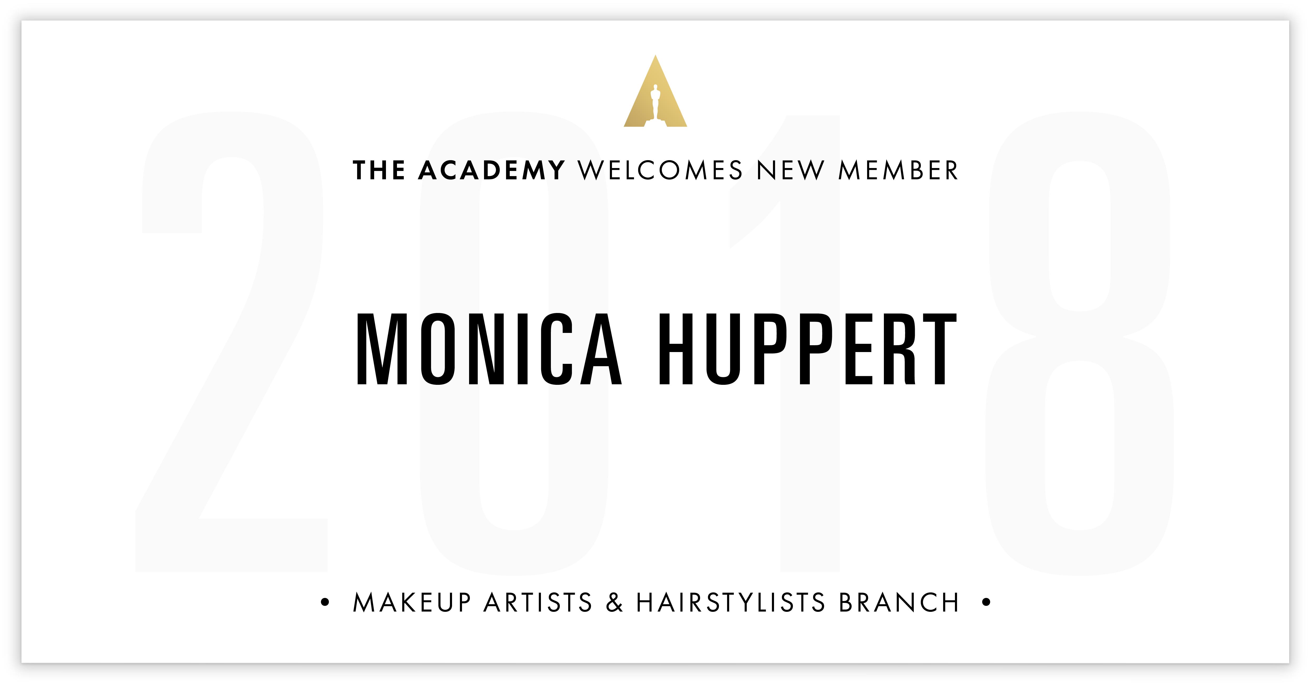 Monica Huppert is invited!