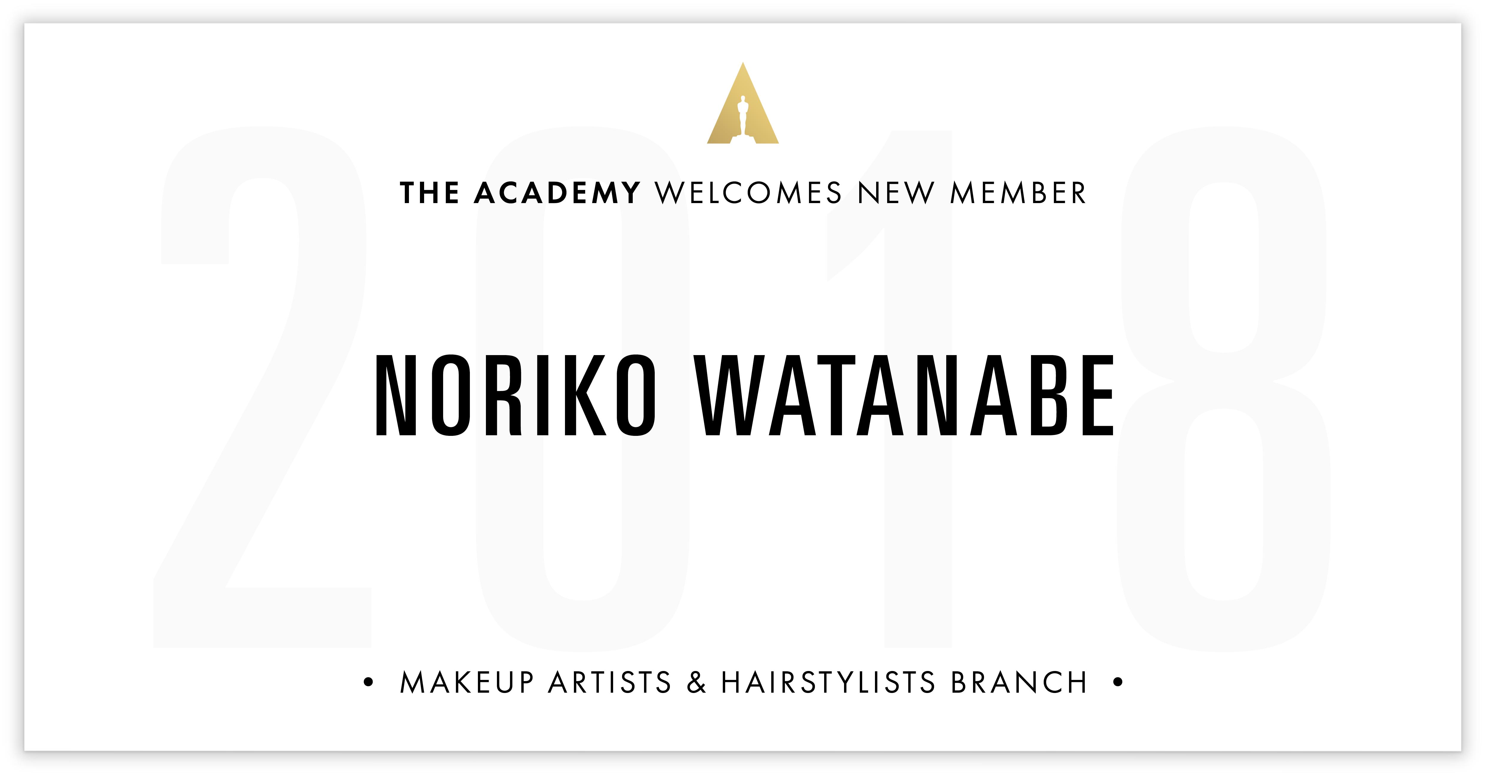 Noriko Watanabe is invited!