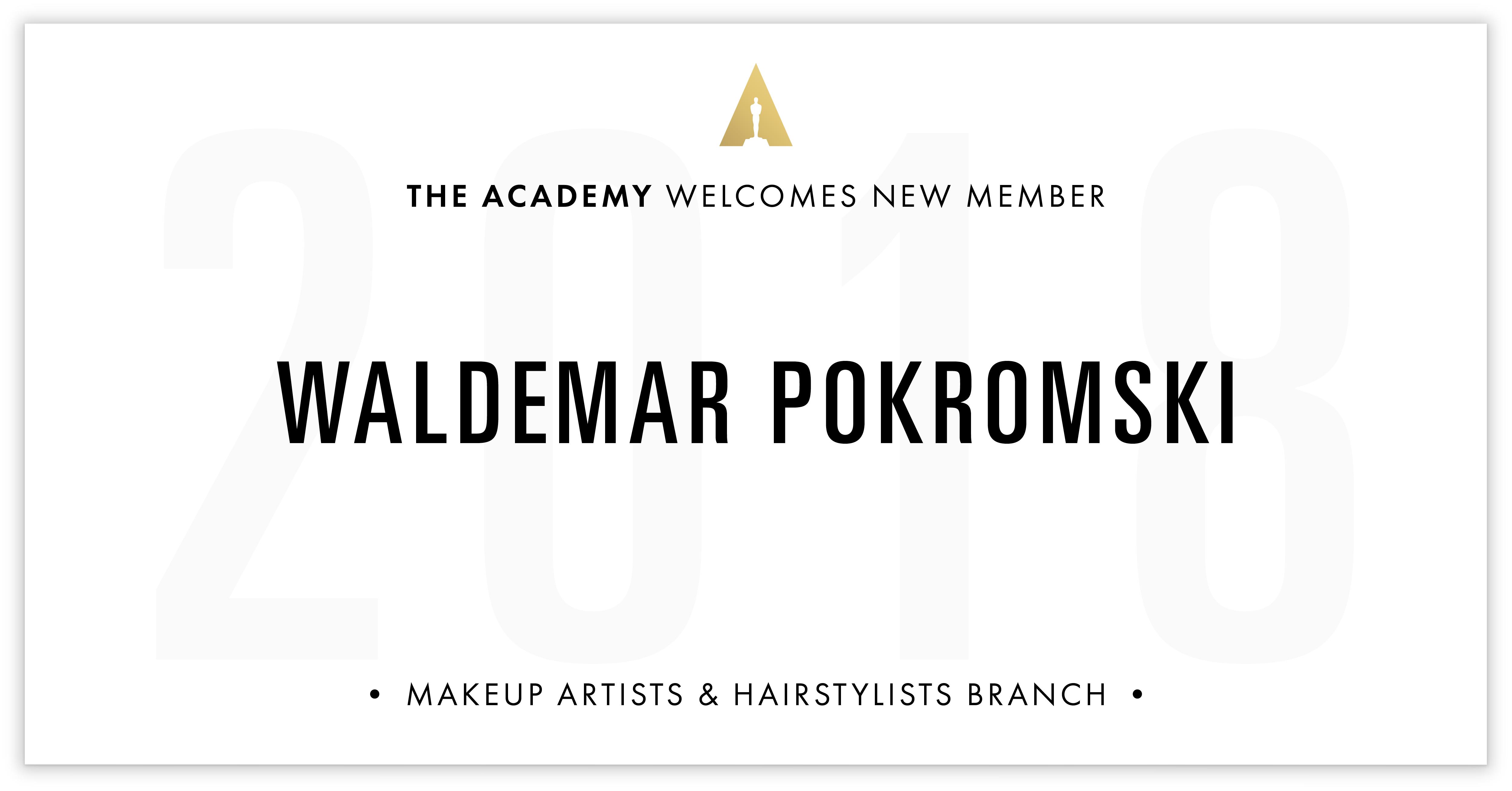 Waldemar Pokromski is invited!