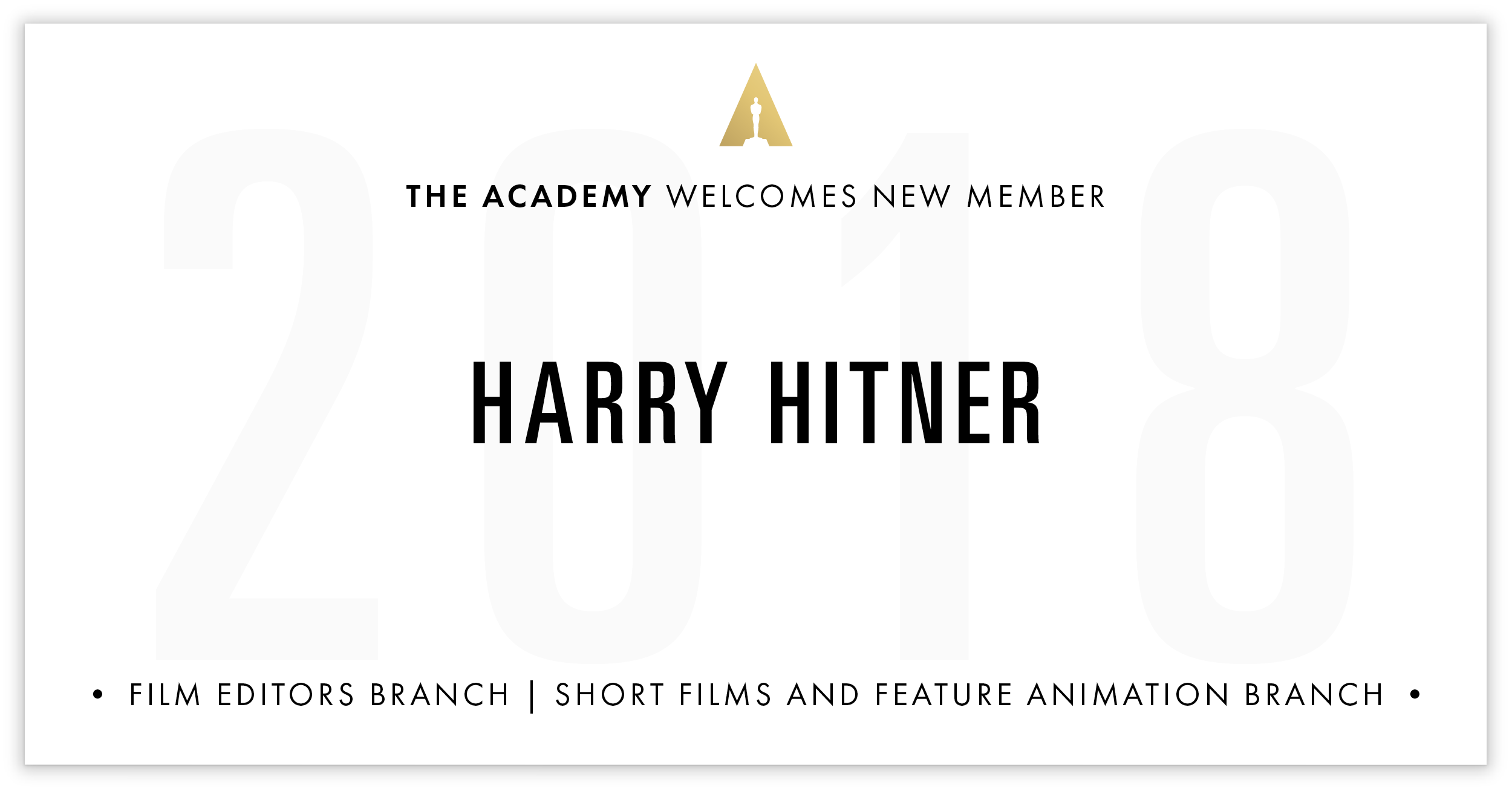 Harry Hitner is invited!