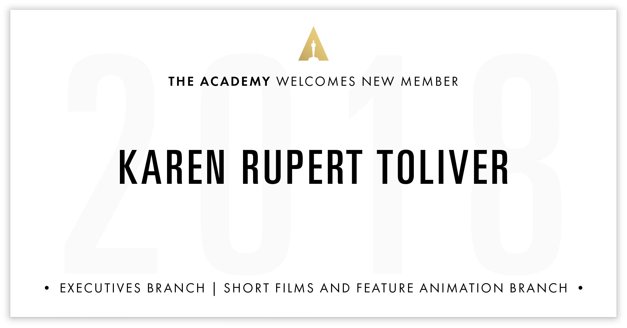 Karen Toliver is invited!