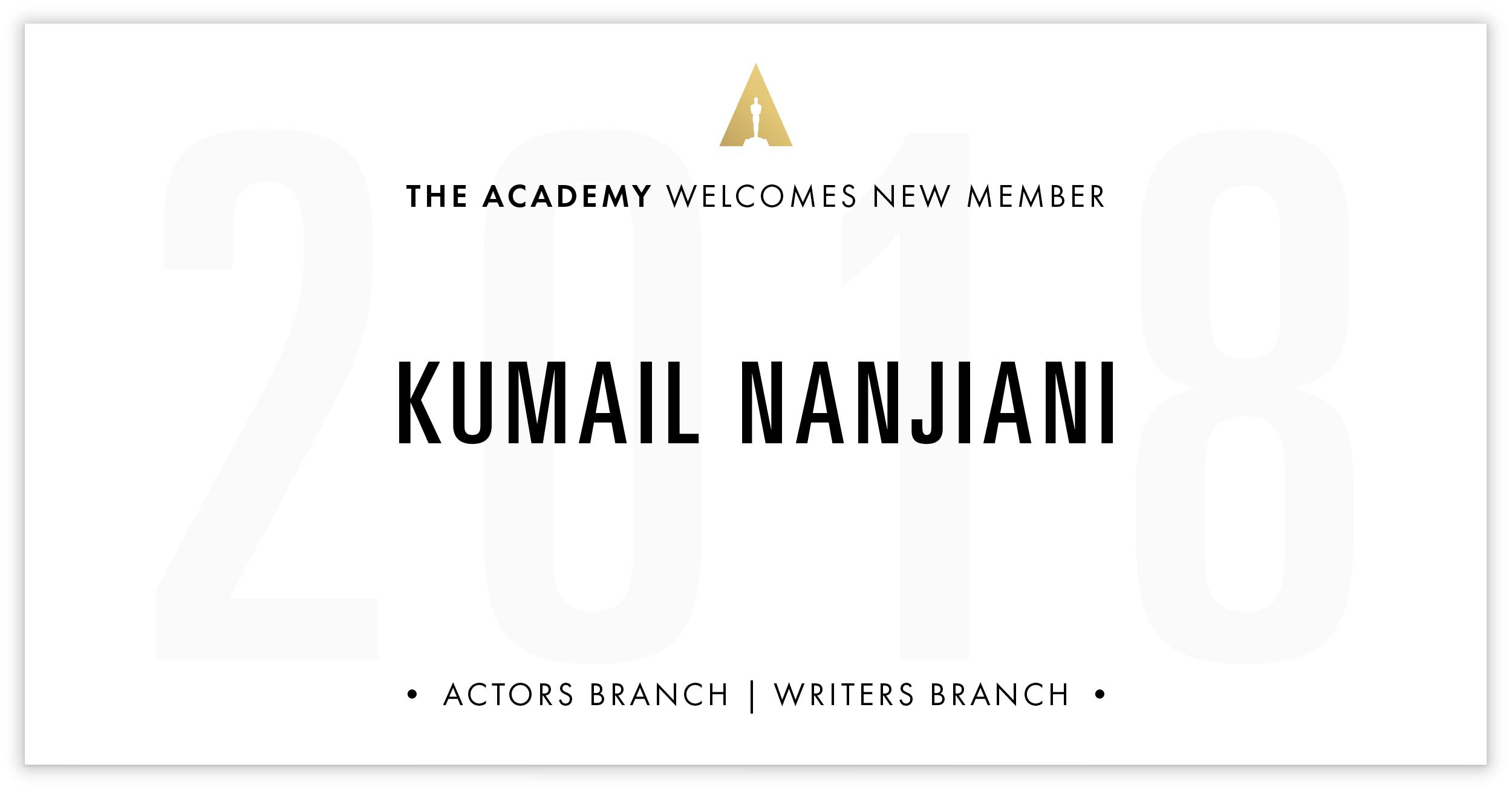 Kumail Nanjiani is invited!