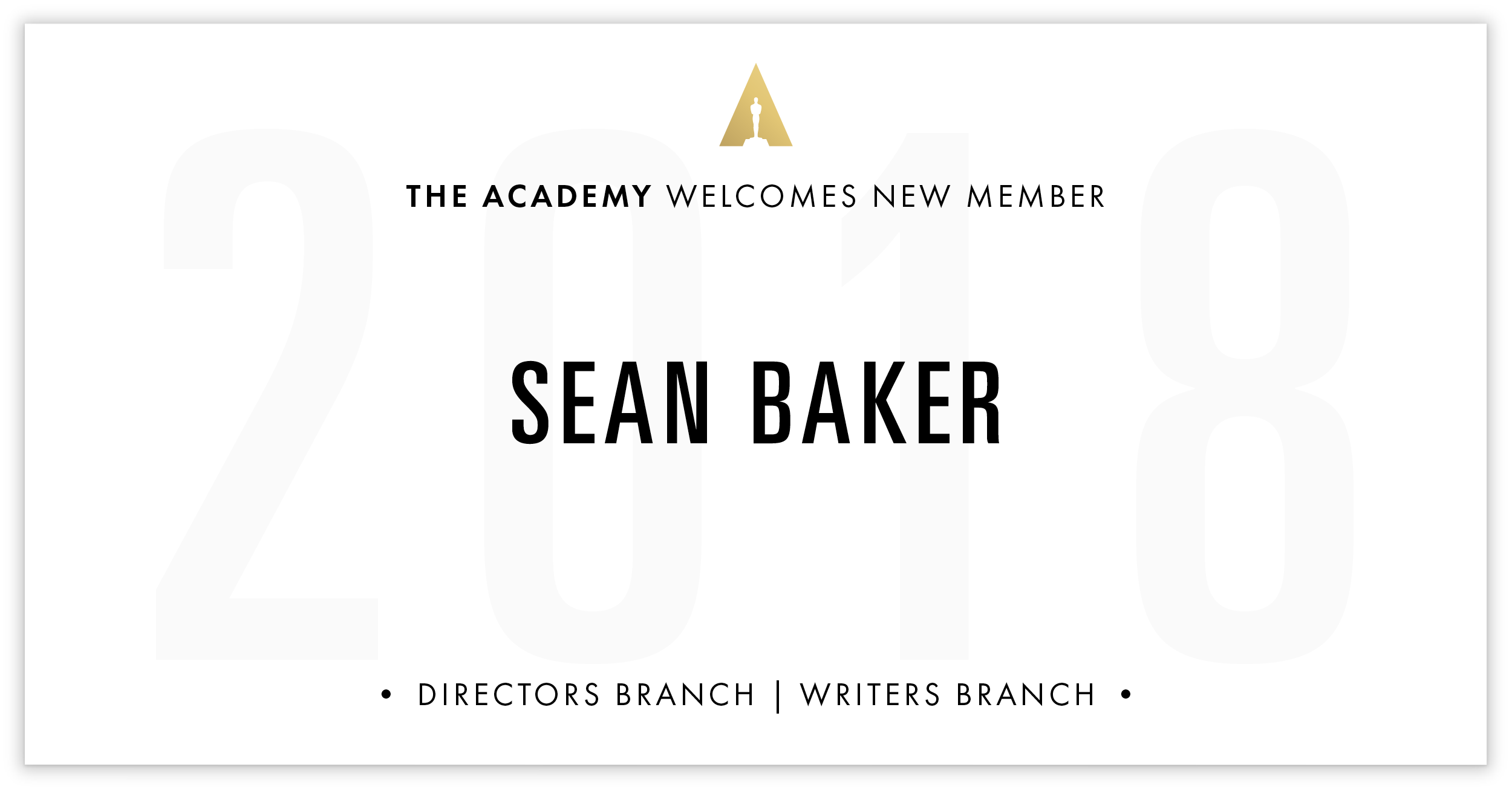 Sean Baker is invited!