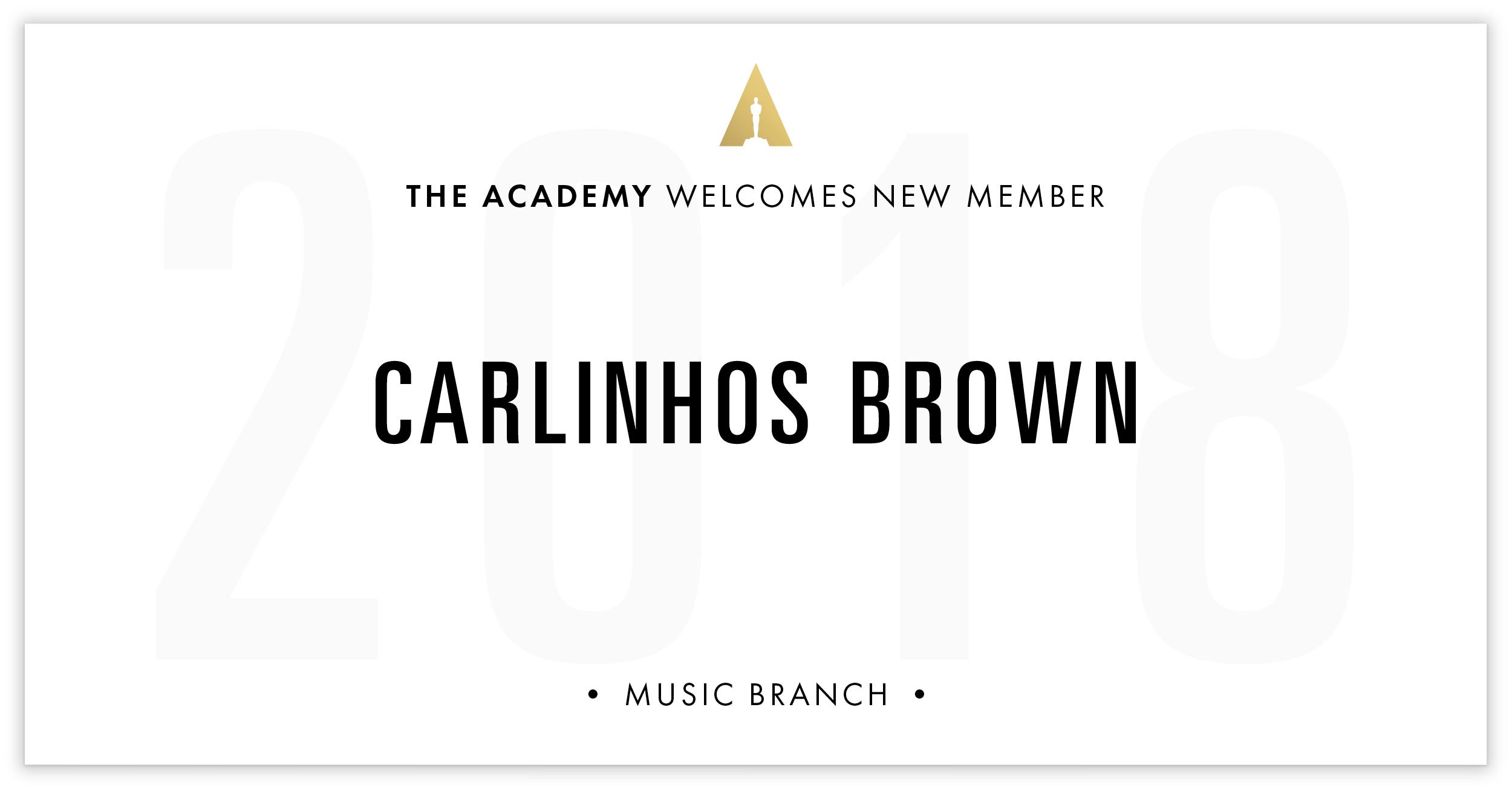 Carlinhos Brown is invited!