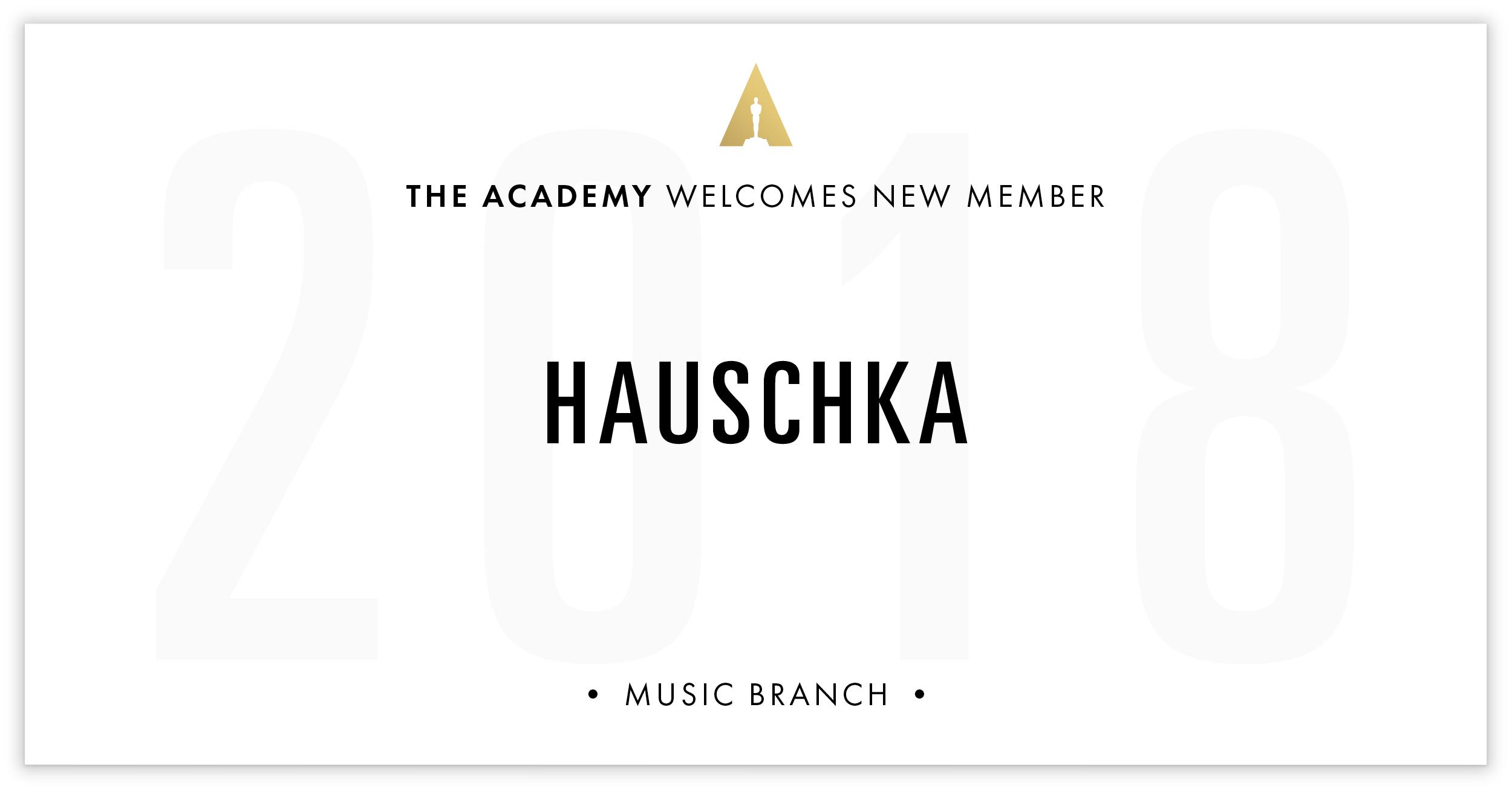Hauschka is invited!