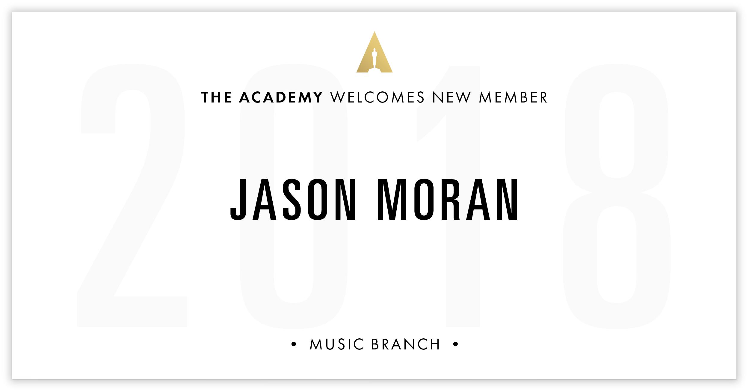 Jason Moran is invited!