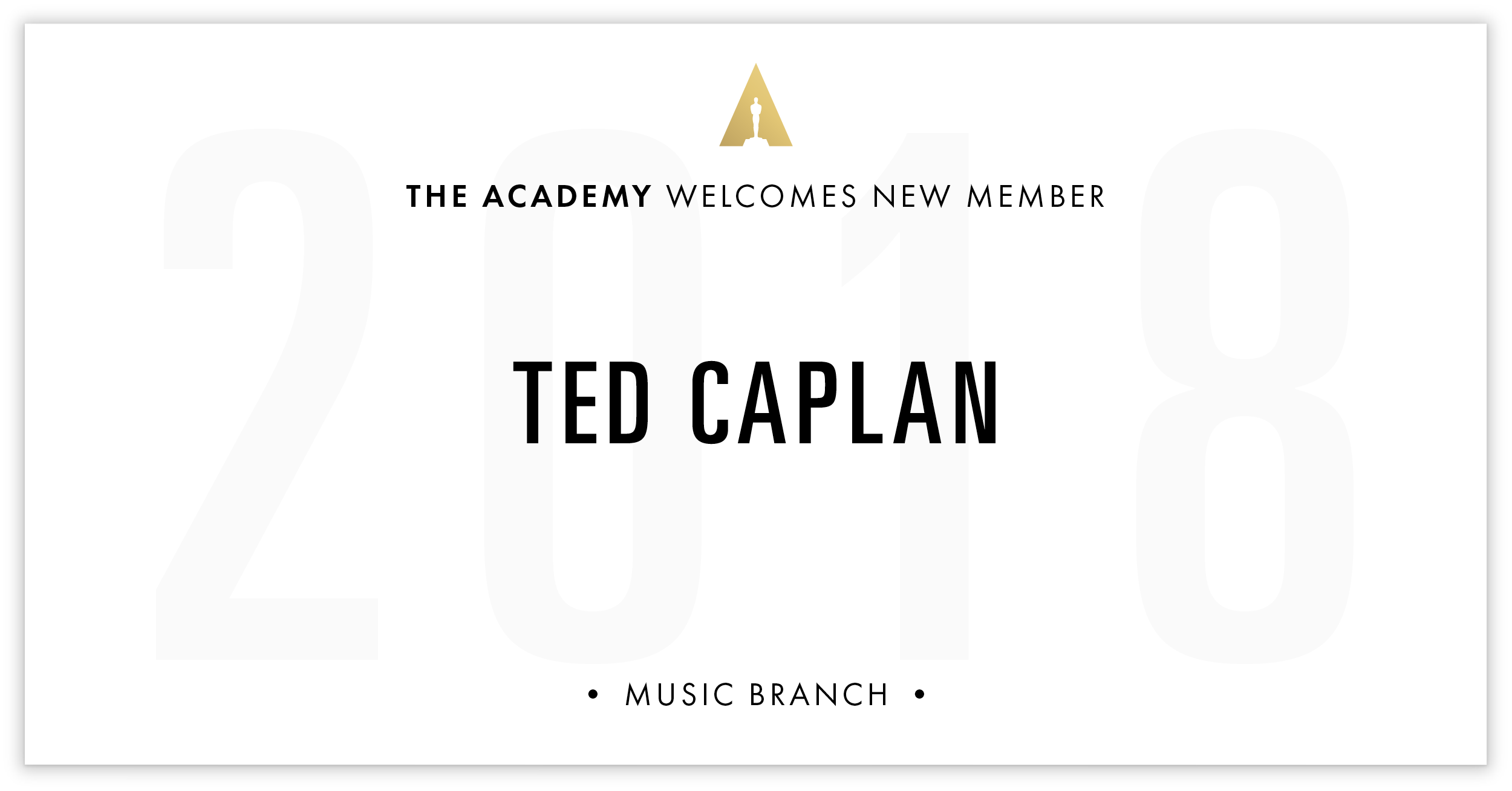 Ted Caplan is invited!