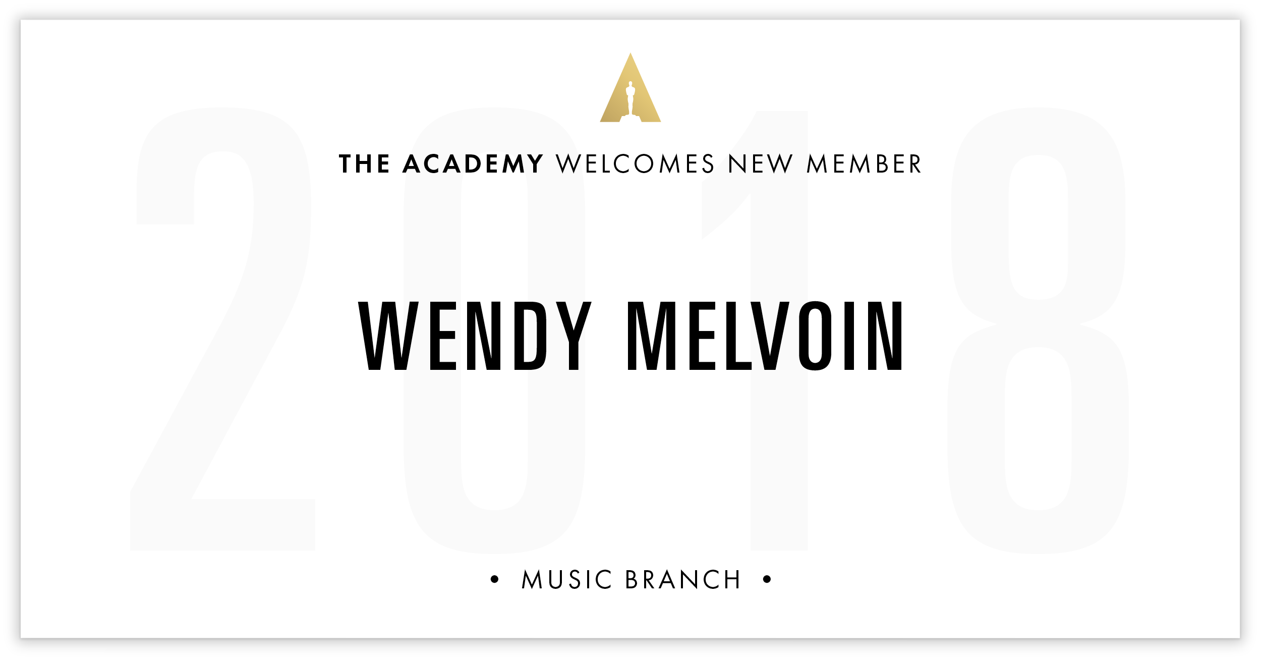 Wendy Melvoin is invited!