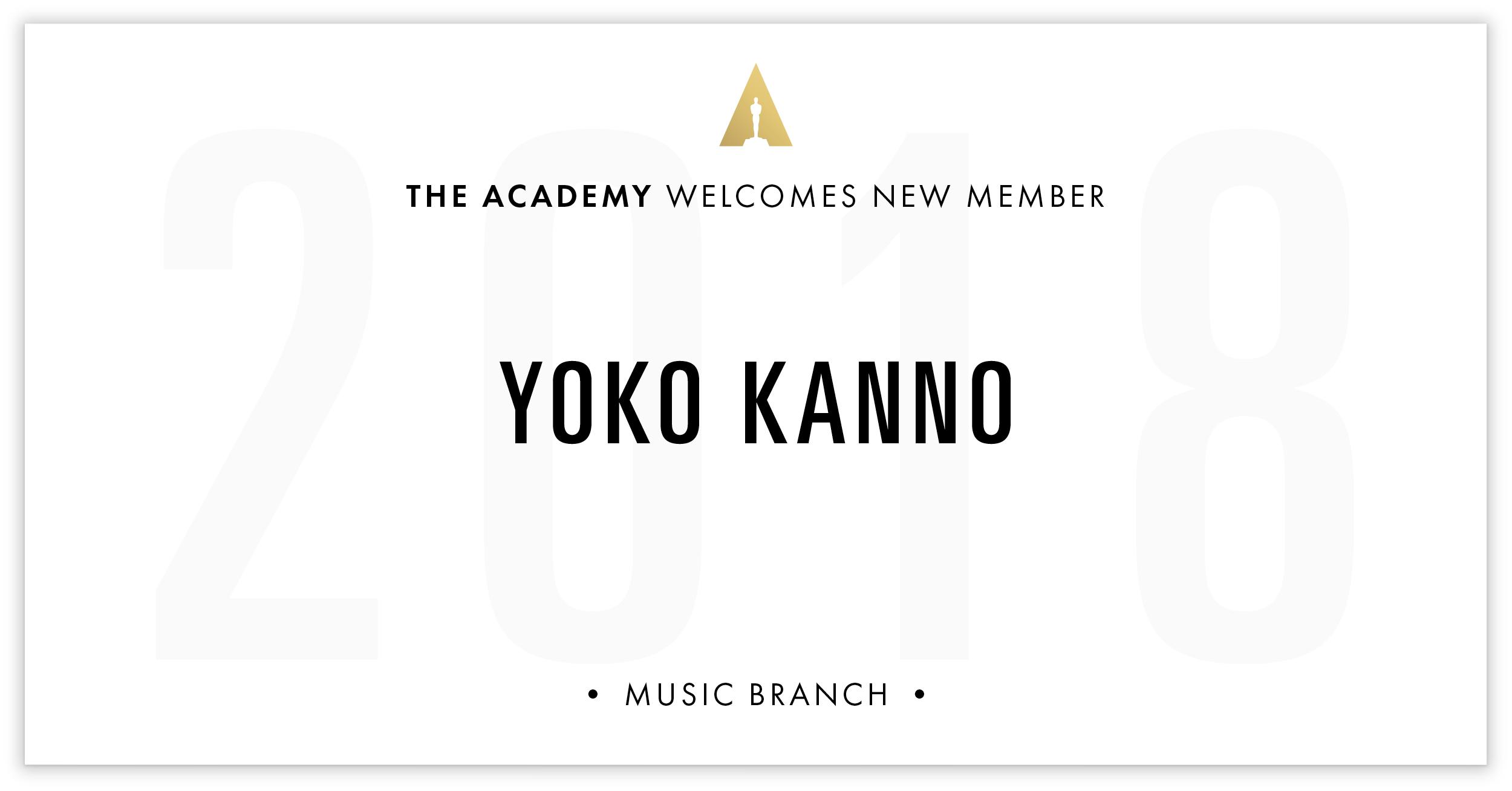 Yoko Kanno is invited!