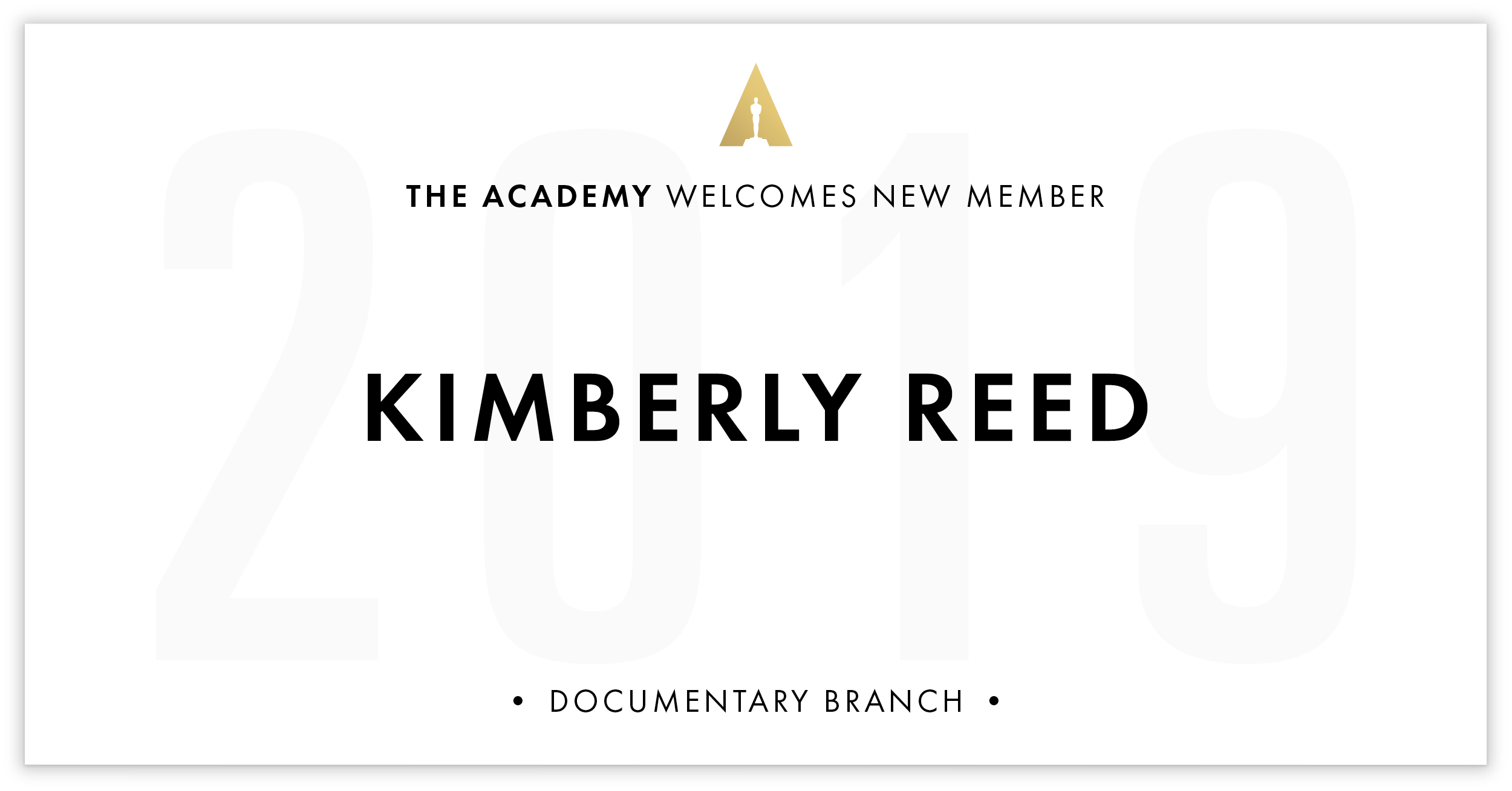 Kimberly Reed is invited!